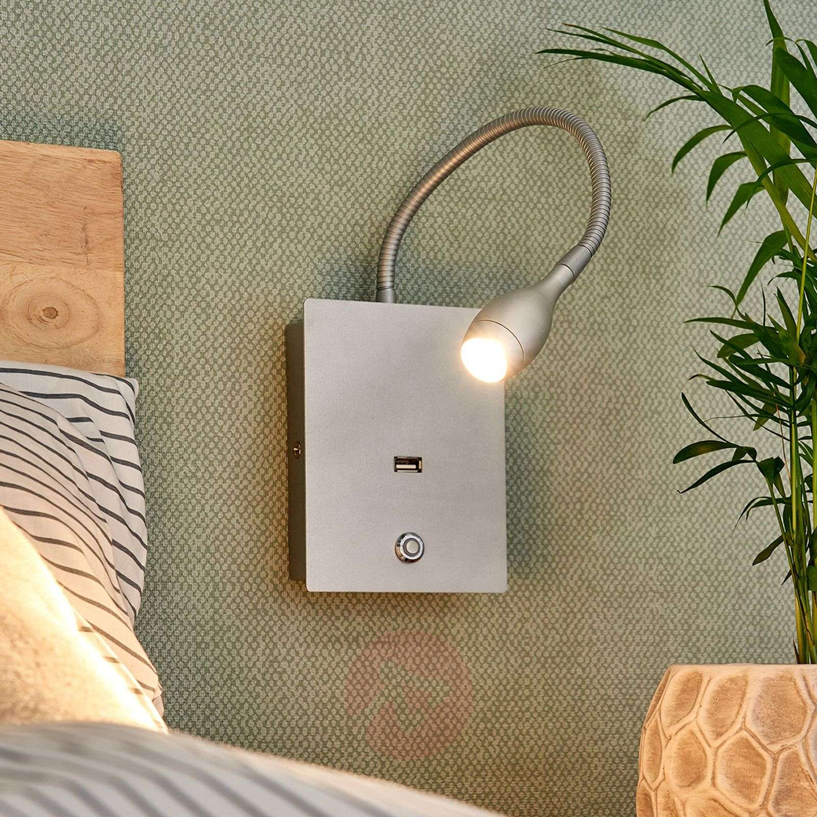 Acquista applique a led marbod flessibile con dimmer lampade