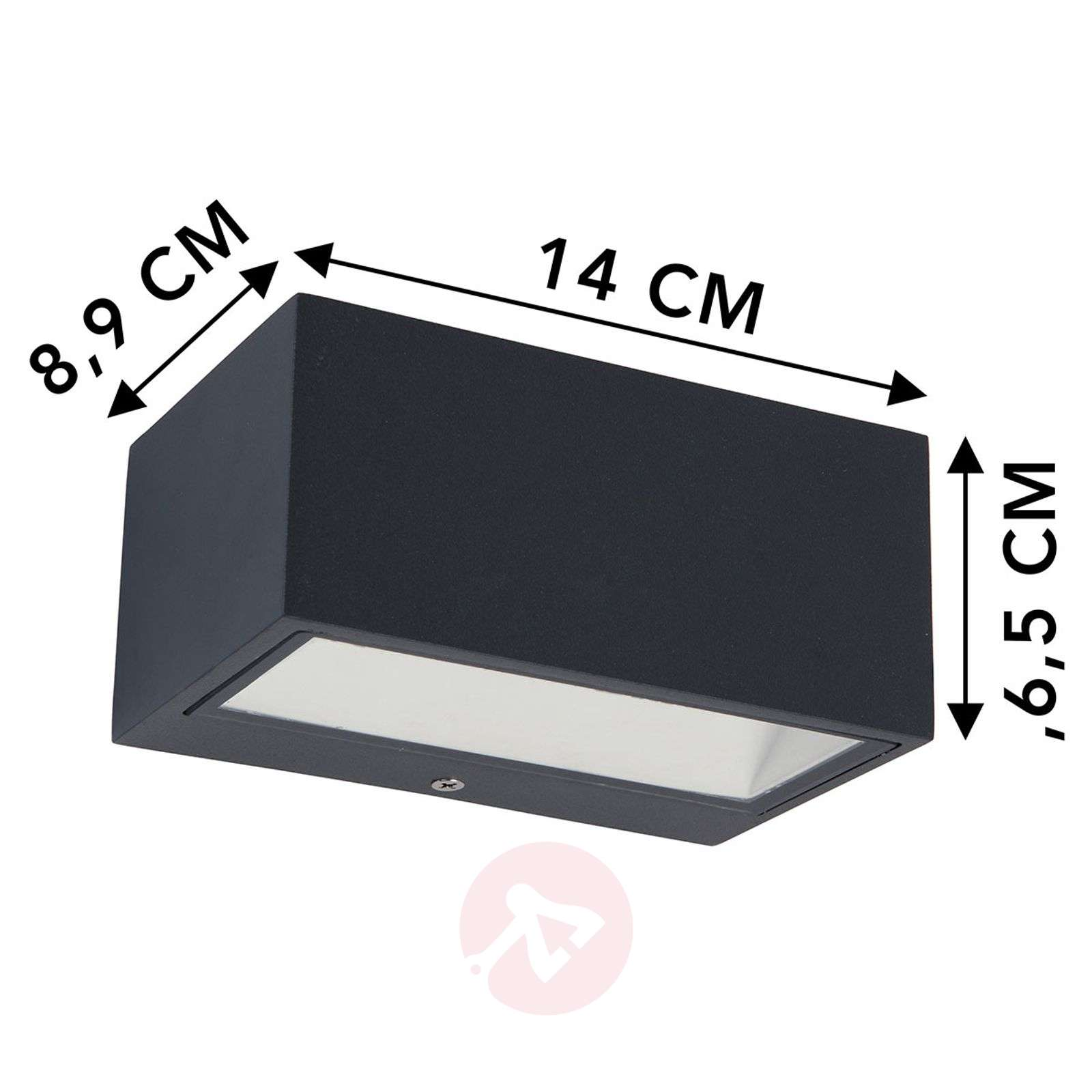 Applique da esterni LED Nomra IP54-3006208-03