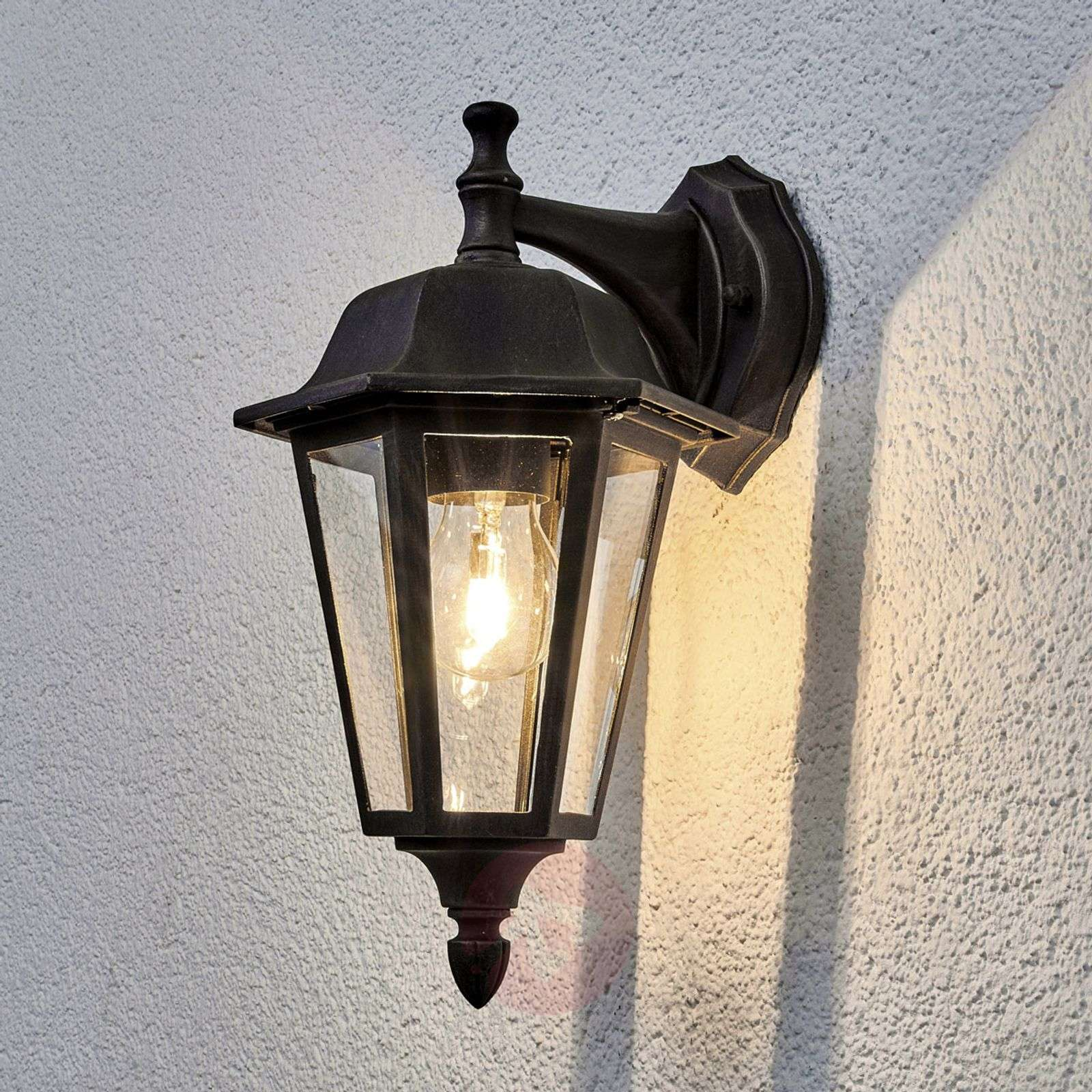 Plafoniera Da Esterno Ruggine : Acquista applique da esterno lamina color ruggine lampade
