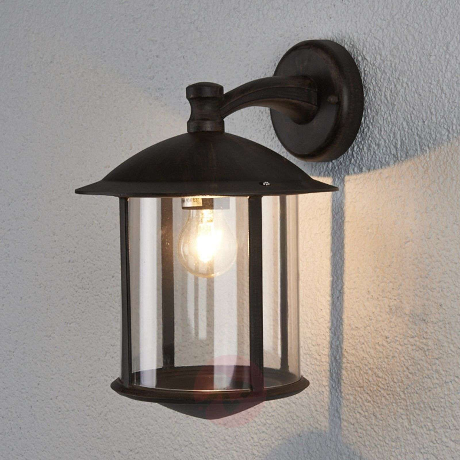 Plafoniera Da Esterno Ruggine : Acquista applique da esterno maelis color ruggine lampade