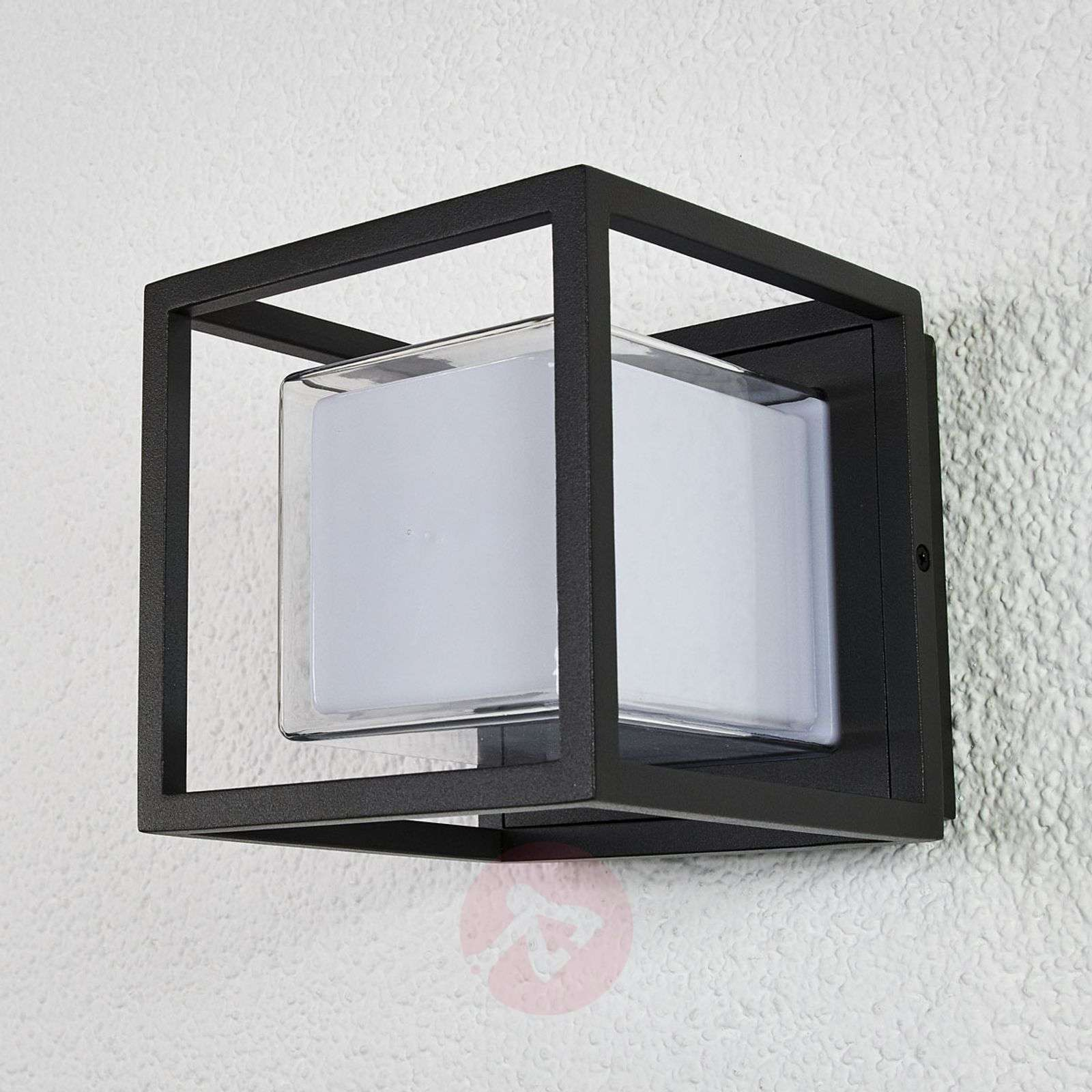 Applique LED cubica da esterni Laurens