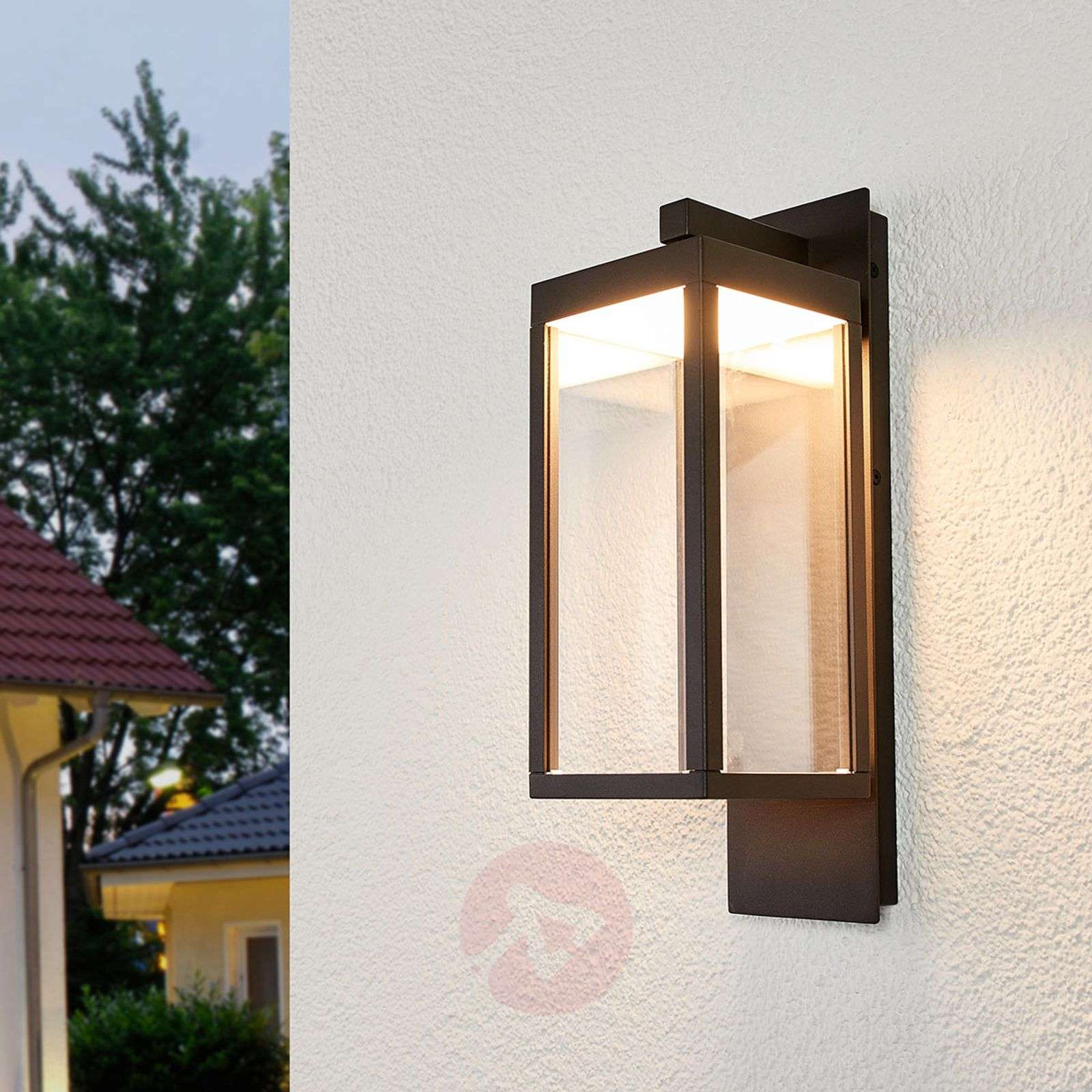 Acquista applique led da esterni ferdinand a lanterna lampade