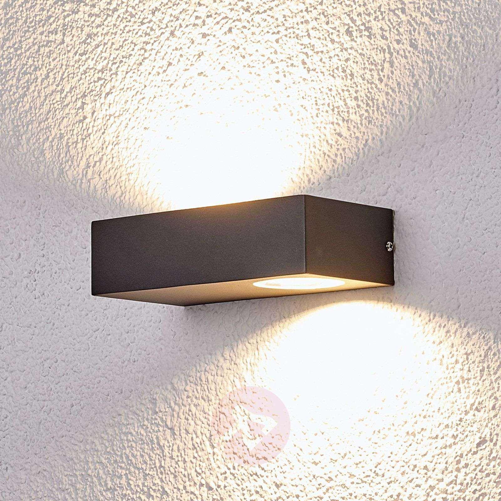 Acquista applique led da esterni loredana luce deffetto lampade.it