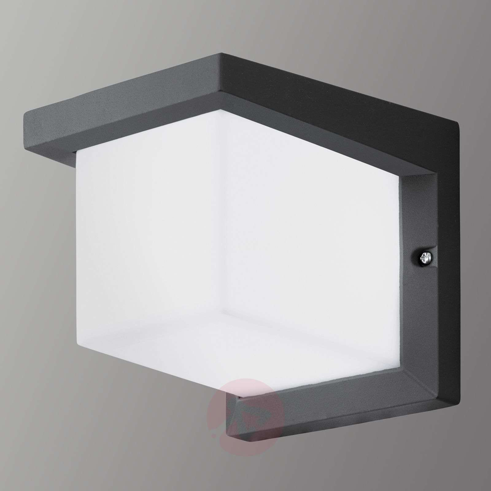 Acquista applique led da esterno desella a forma di cubo lampade.it