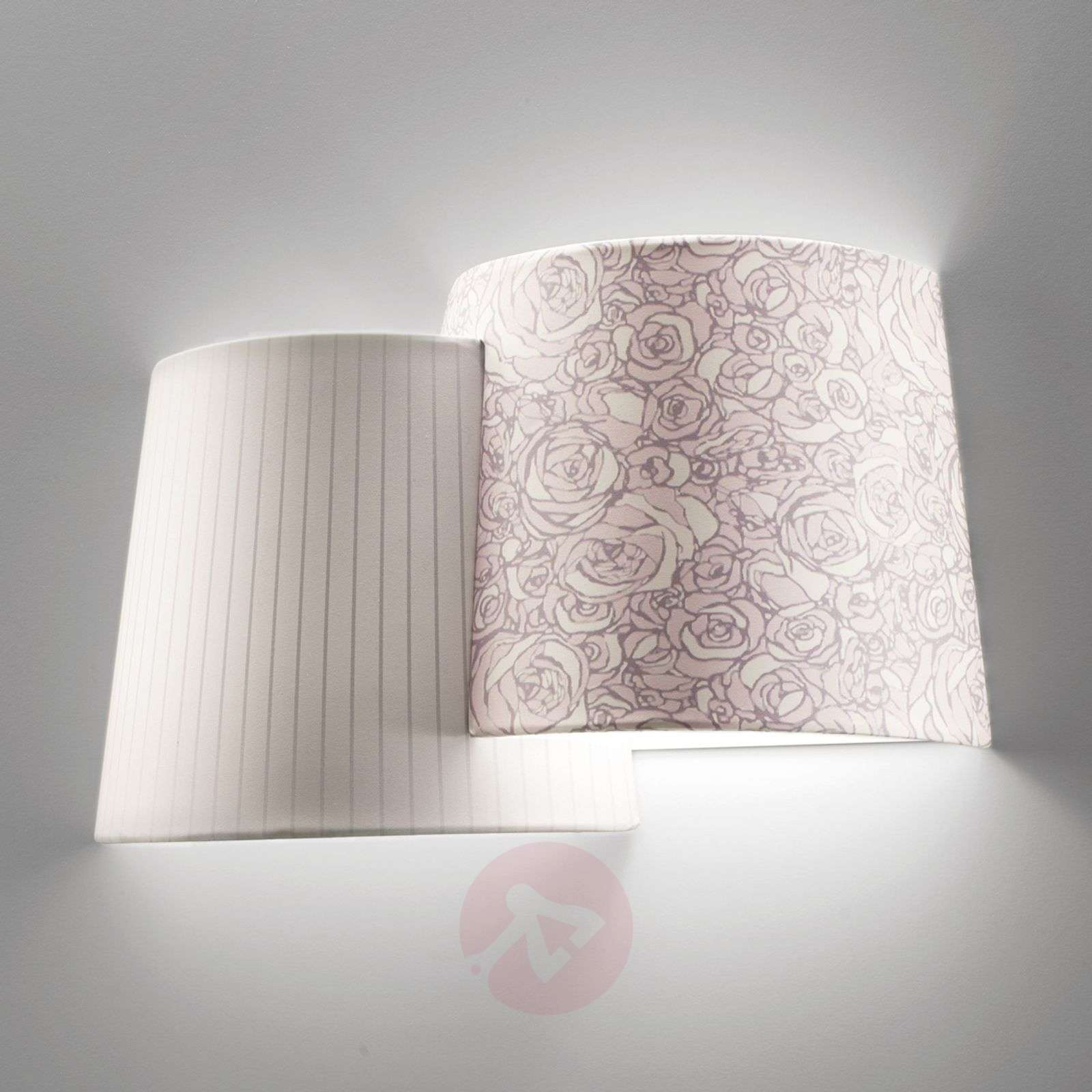 Acquista applique meltin pot chiara a due luci lampade