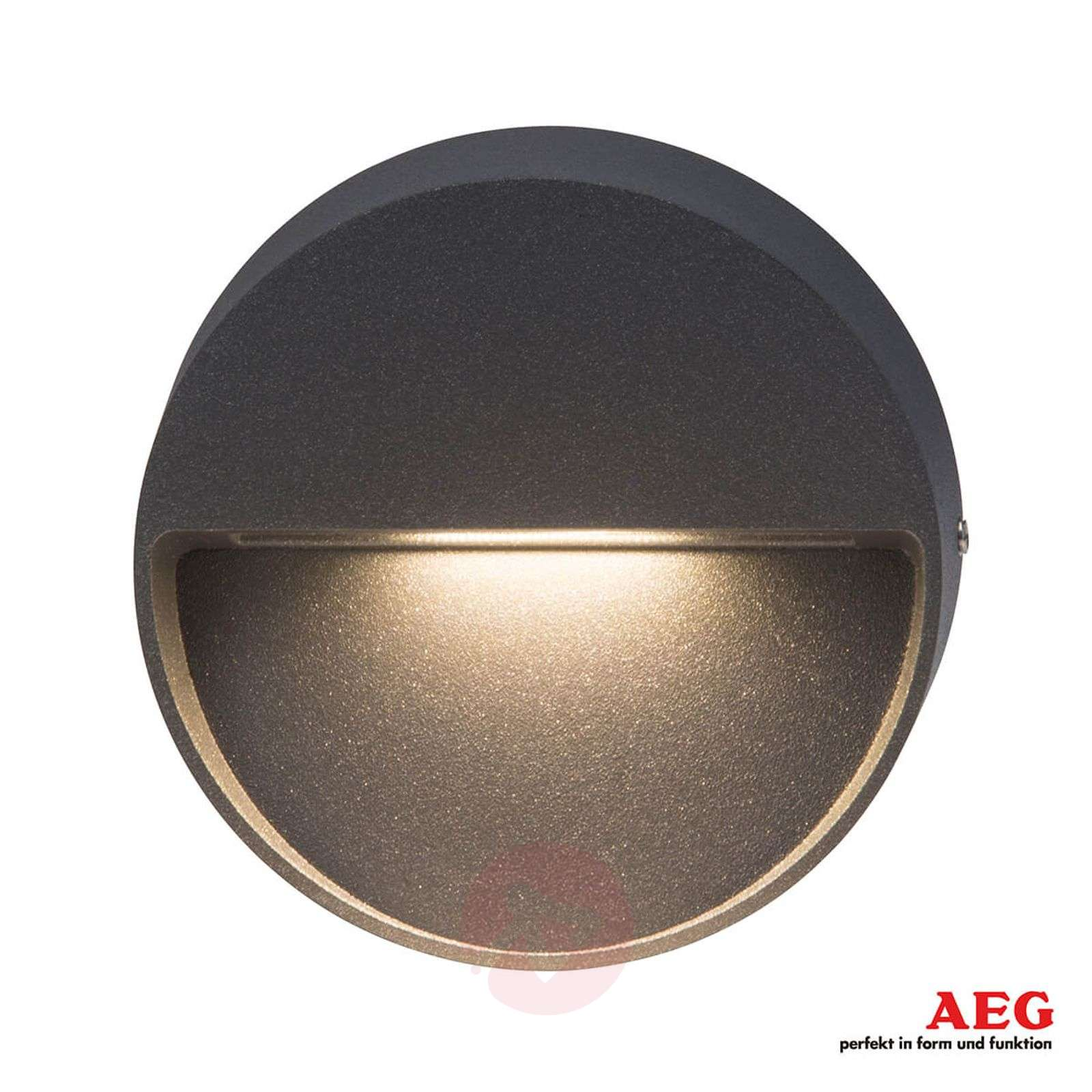 Applique per esterni LED Front tonda antracite-3057127-01