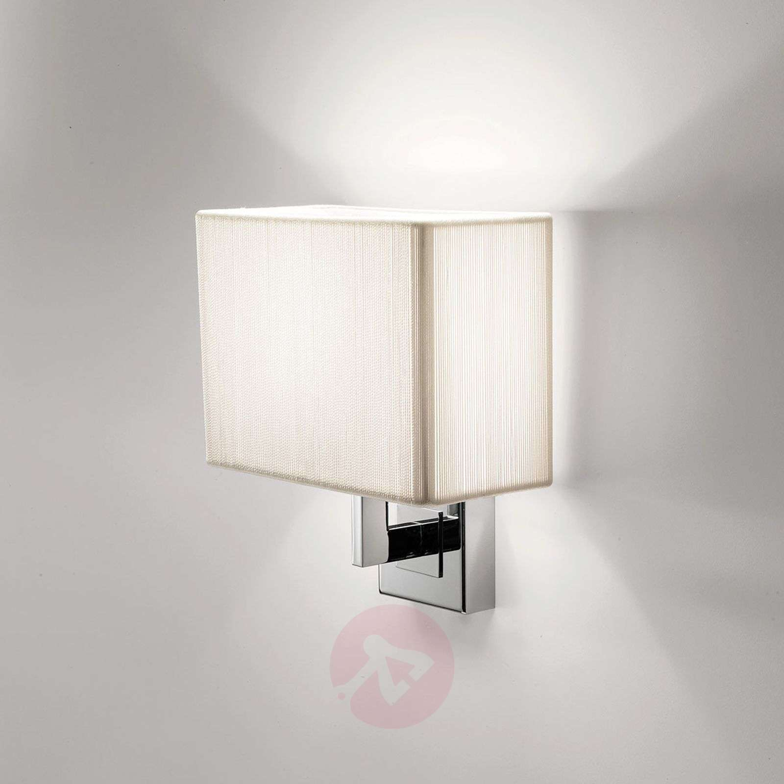 Axolight Clavius applique bianco/cromo-1088122-01