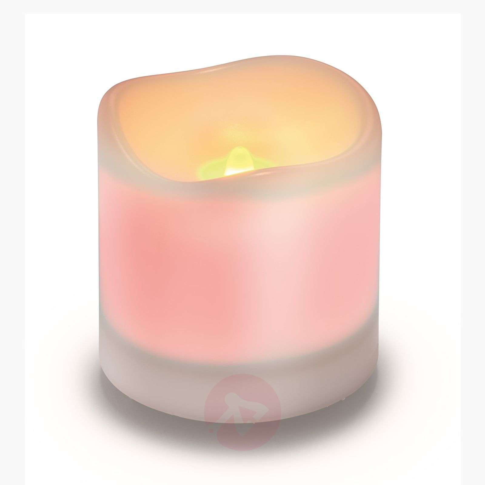 Candela solare a LED bianca Candle Light-3012228-01