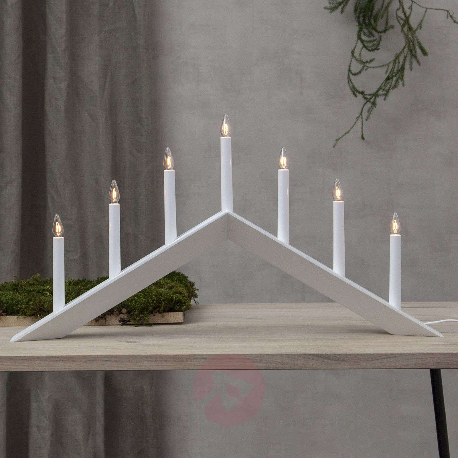 Candelabro Arrow, piatto, 7 luci-1523724X-01