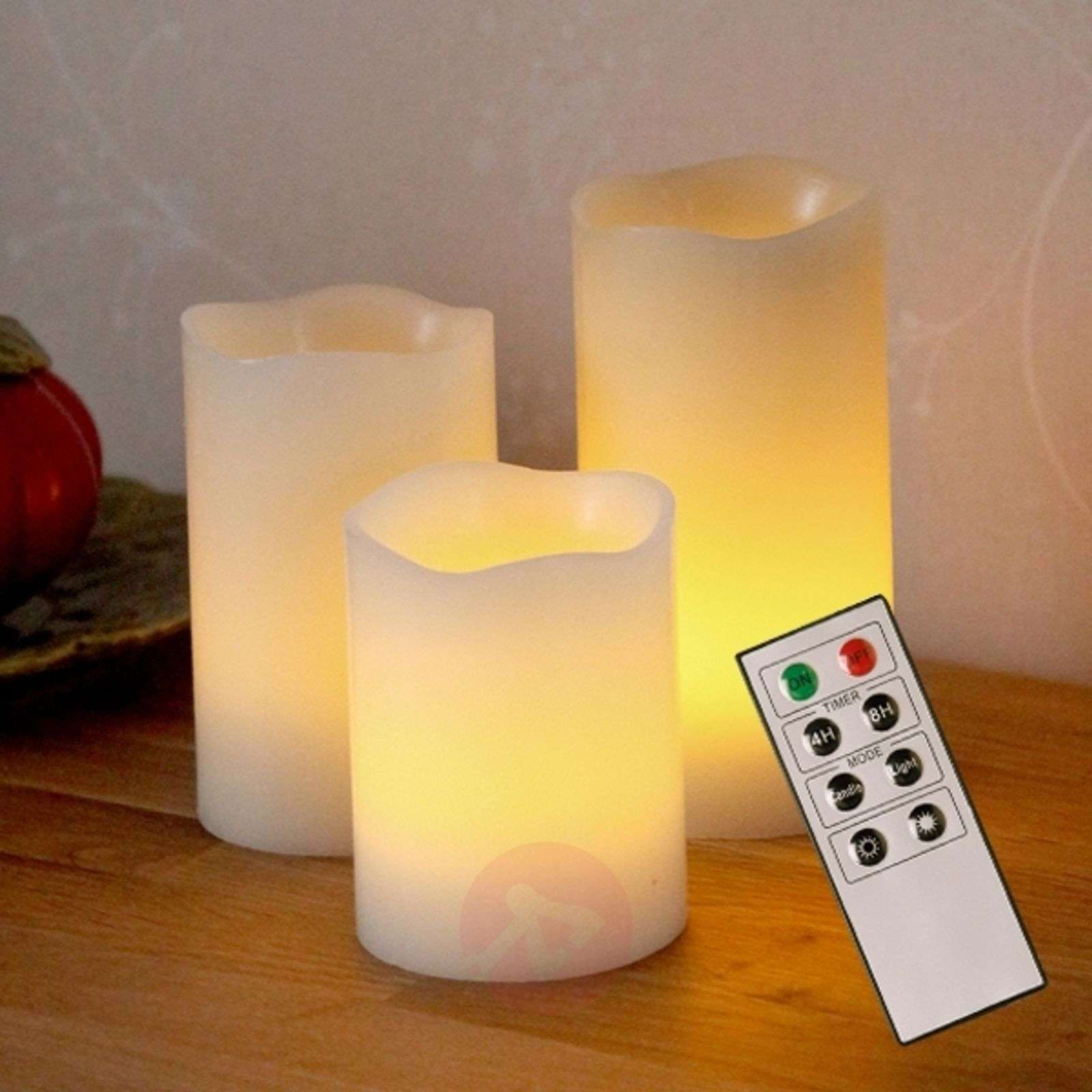 Decorative candele LED Wax di cera-1522391-01