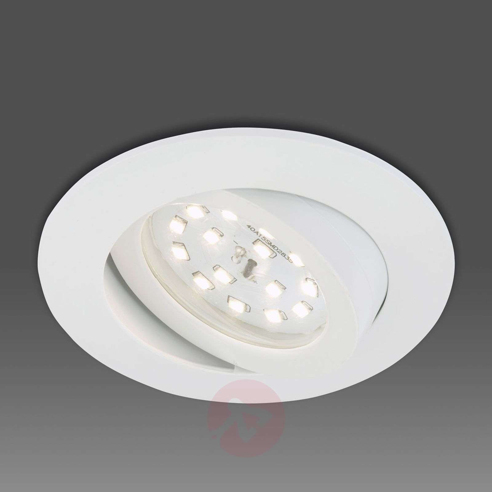 Downlight LED Erik orientabile, bianco-1510281-01