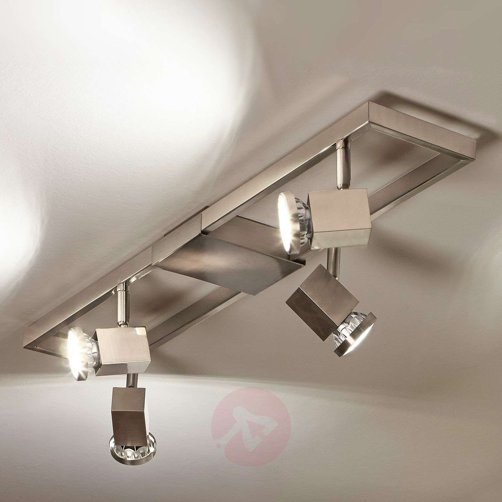 Acquista faretto led per soffitto zeraco a quattro luci for Led per interni