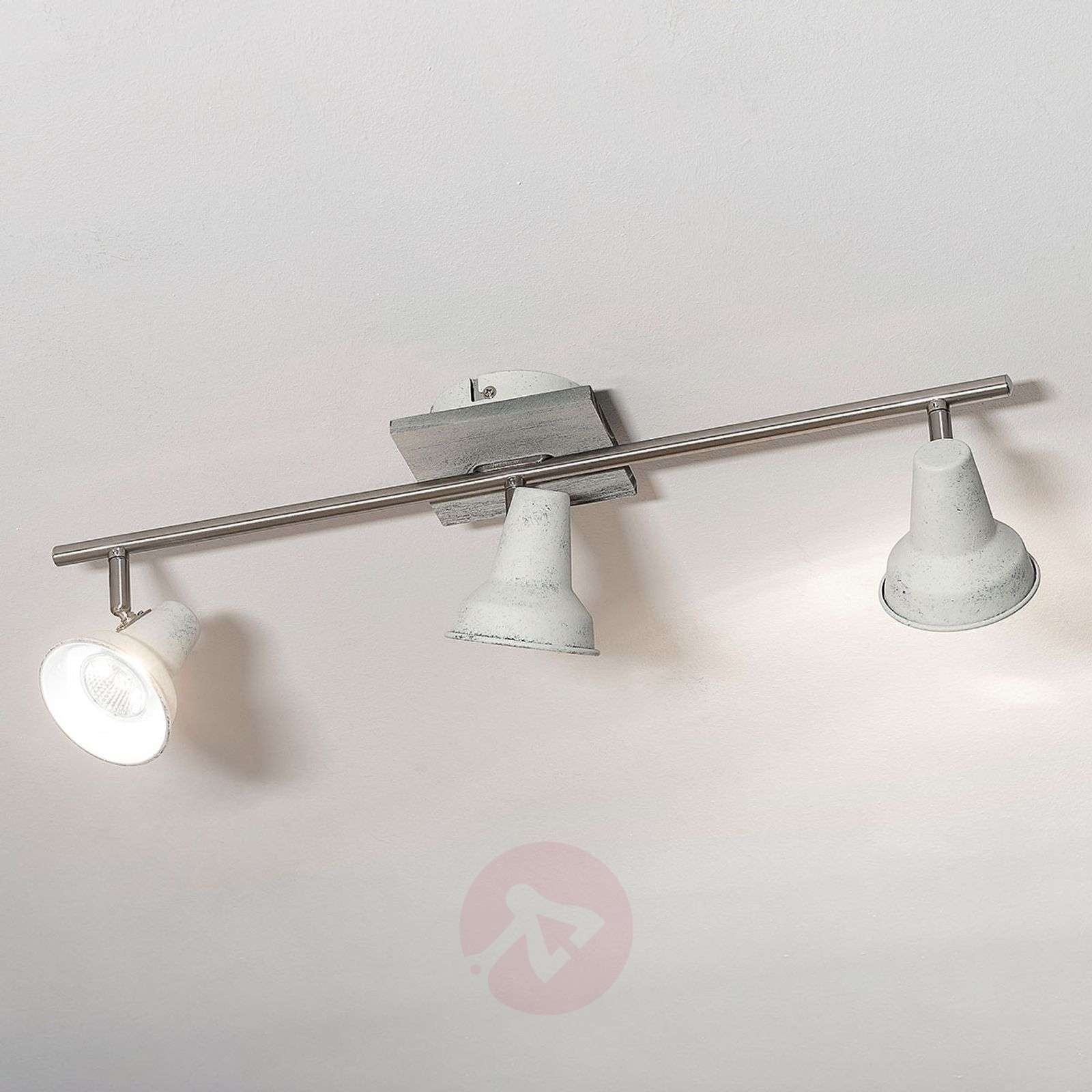 Plafoniere Vetro Vintage : Acquista filipina 3 luci plafoniera led dal look vintage lampade.it