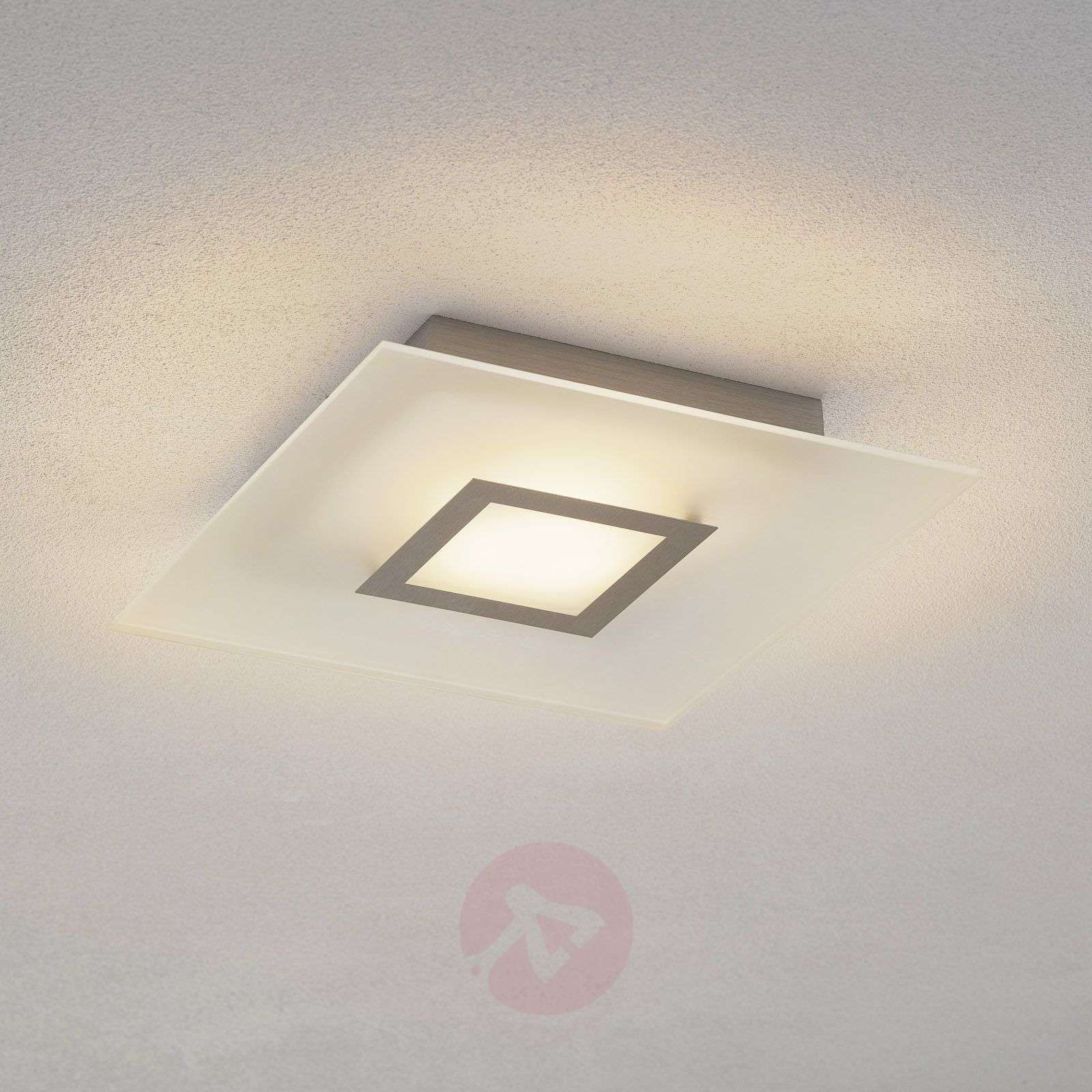 Flat plafoniera LED quadrata, dimmerabile-1556100-01