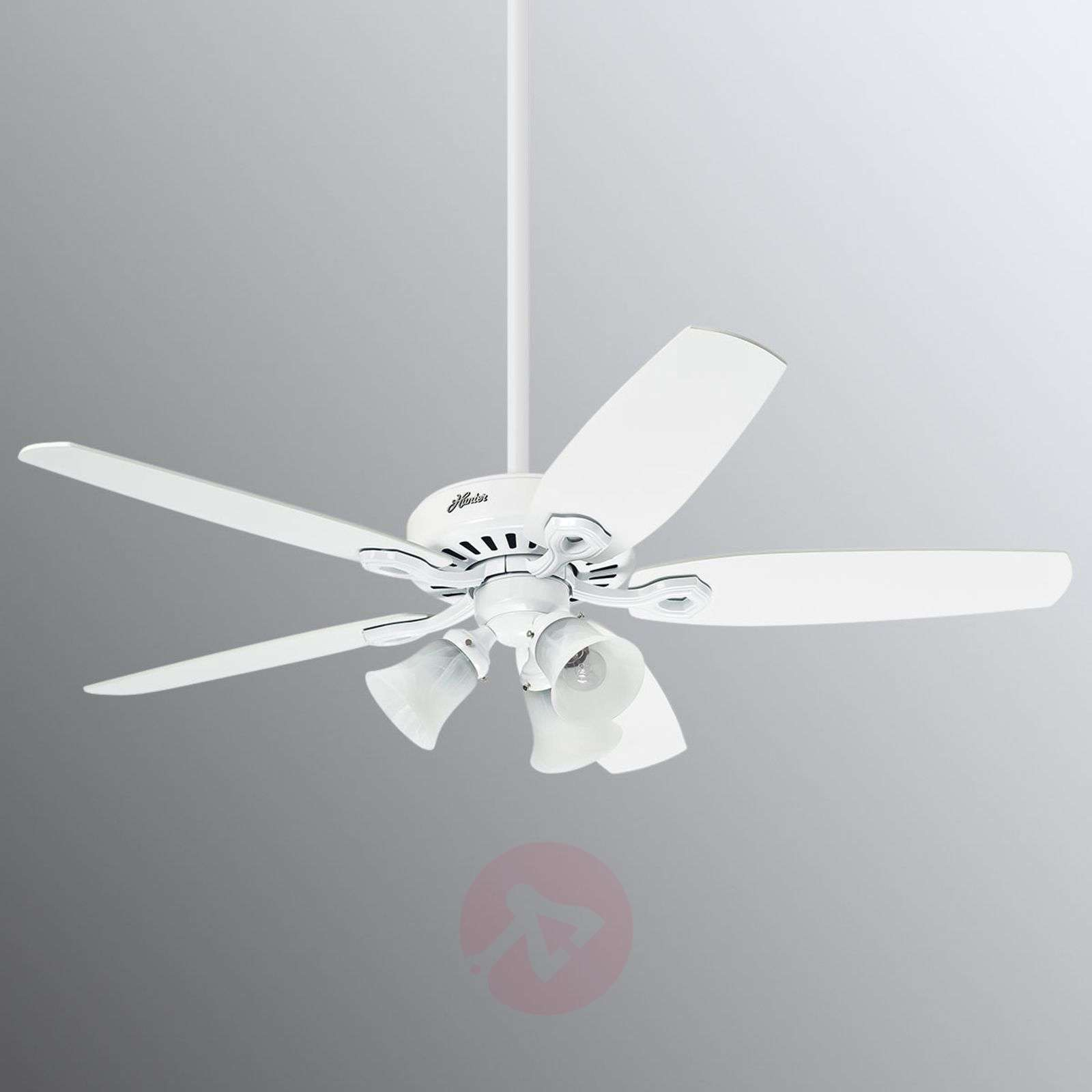 Hunter Builder Plus ventilatore da soffitto bianco