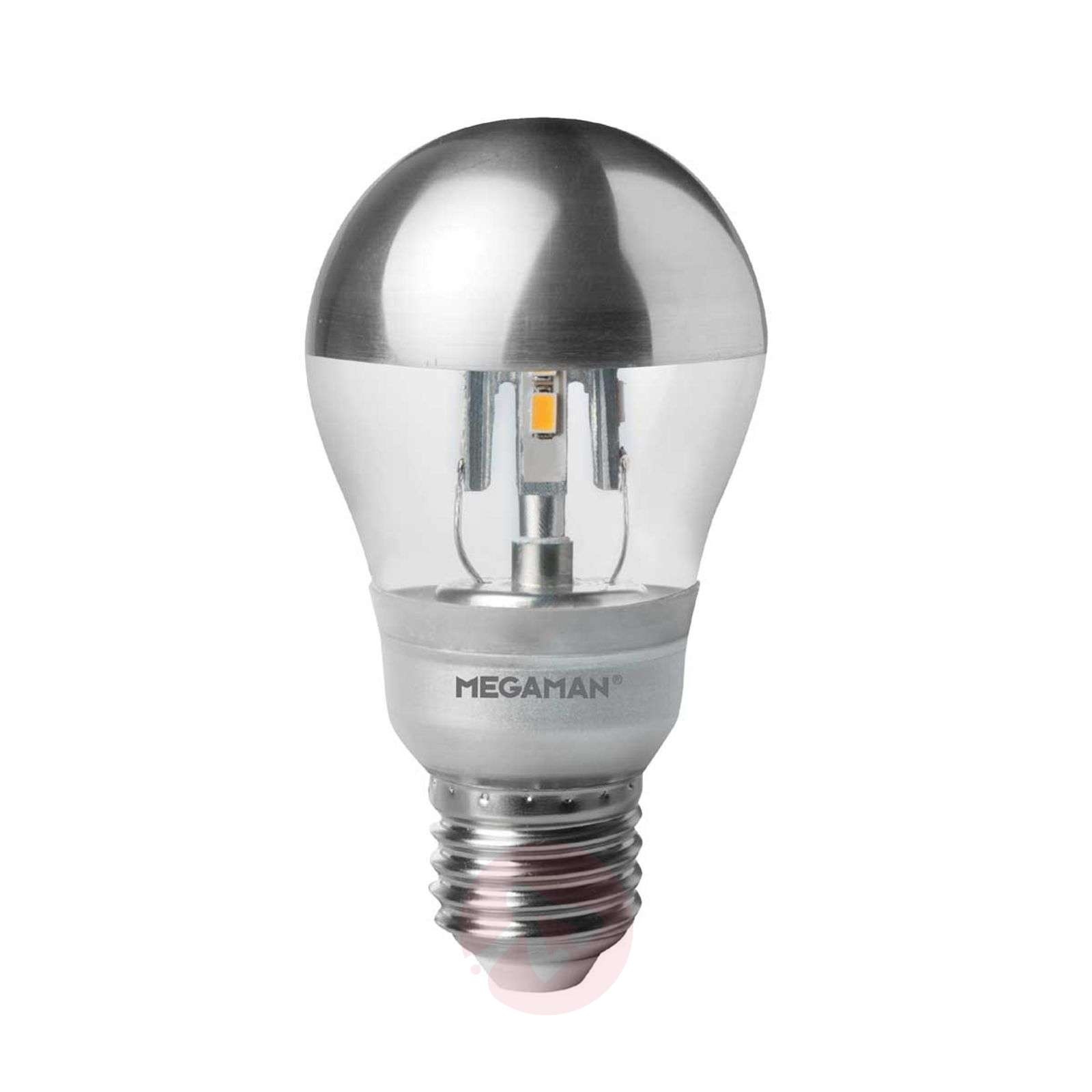Acquista lampadina con testa a specchio led 5 w e27 for Lampade a led e27