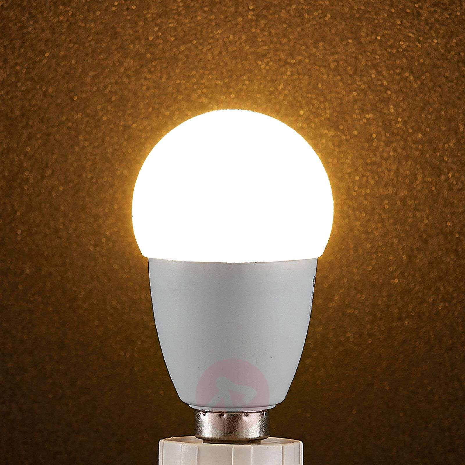 Lindby Smart lampadina LED WiFi E14 4,5 W, goccia-9971020-01