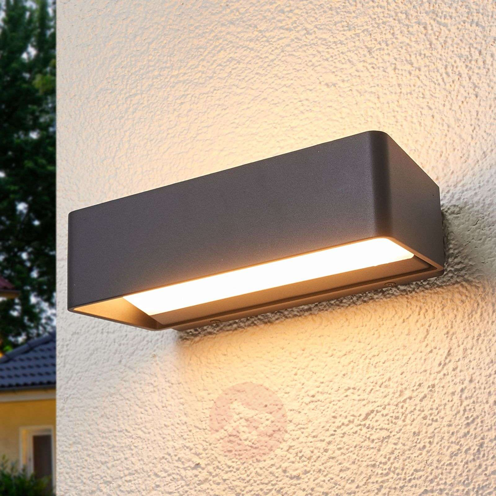 Plafoniera Da Esterno Ip65 : Acquista logan applique led da esterni ip65 lampade.it
