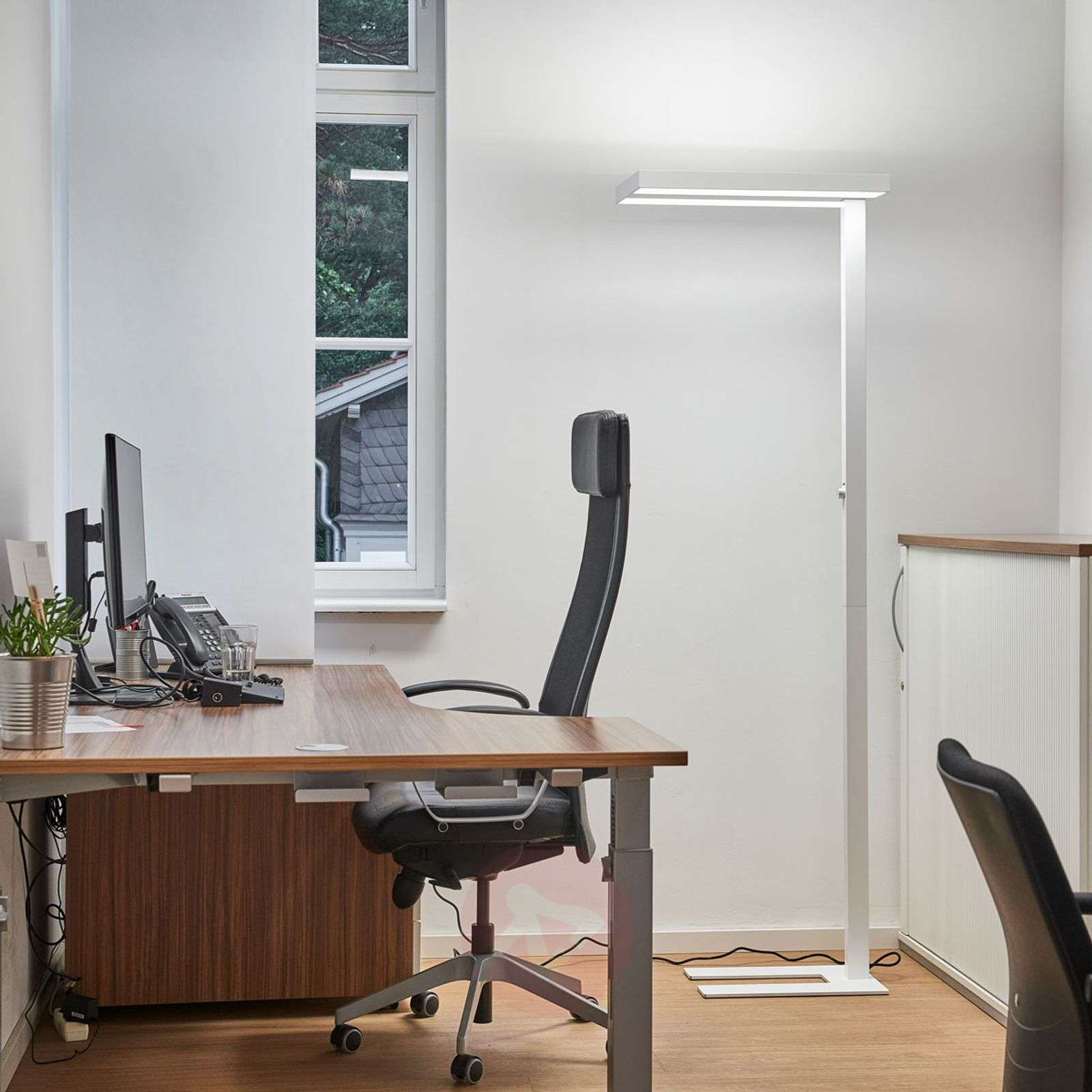 Logan lampada da terra LED office, dimmer 4000K-9968004-02