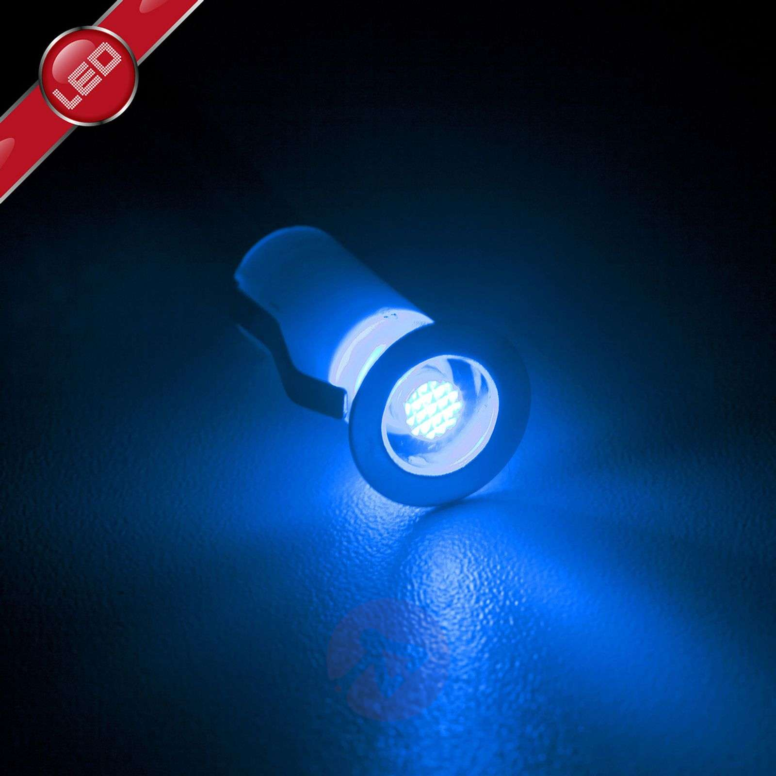 Luci da incasso Cosa LED set da 10 blu-1507140-01