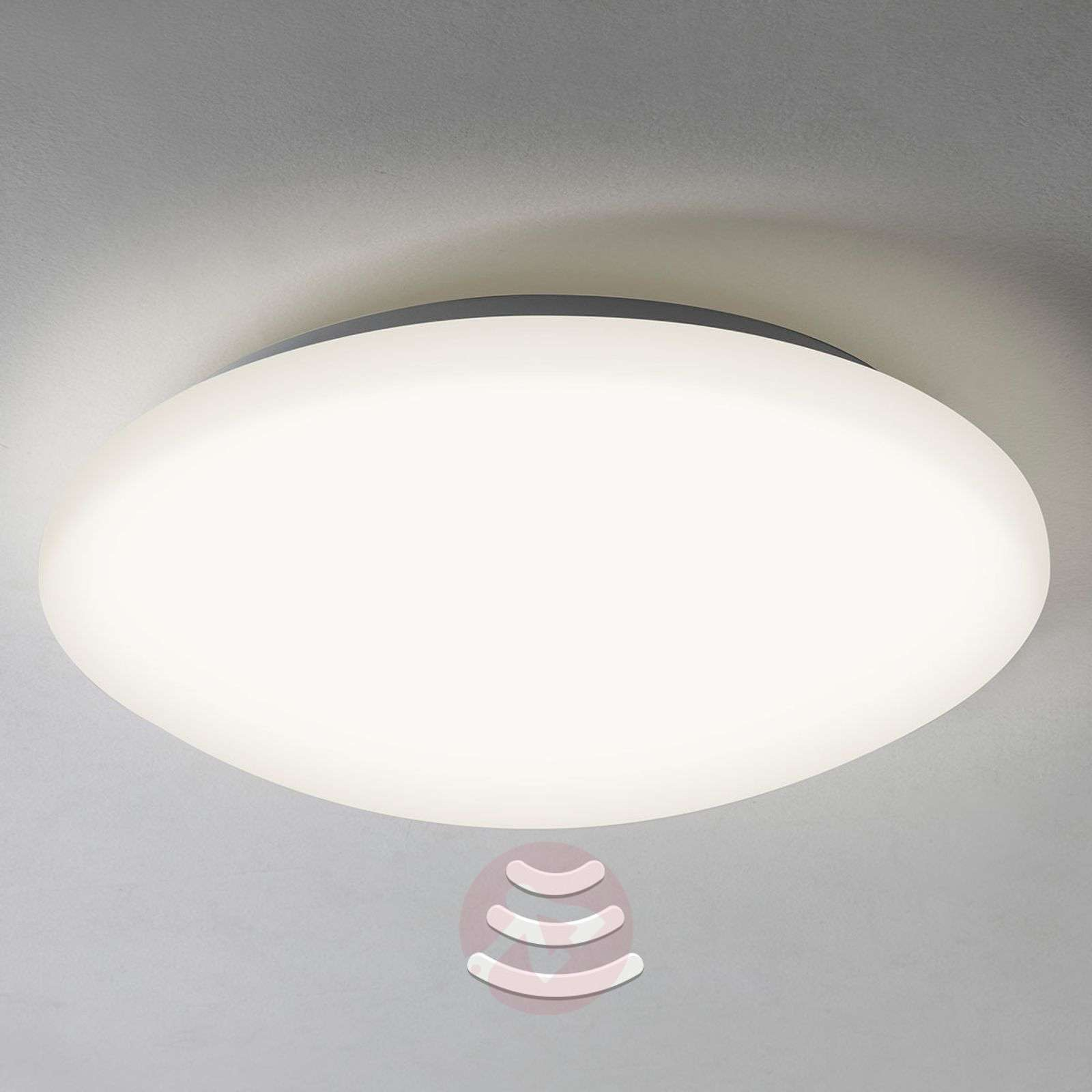 Plafoniera Con Sensore Incorporato : Acquista massa plafoniera led con sensore ip44 lampade.it