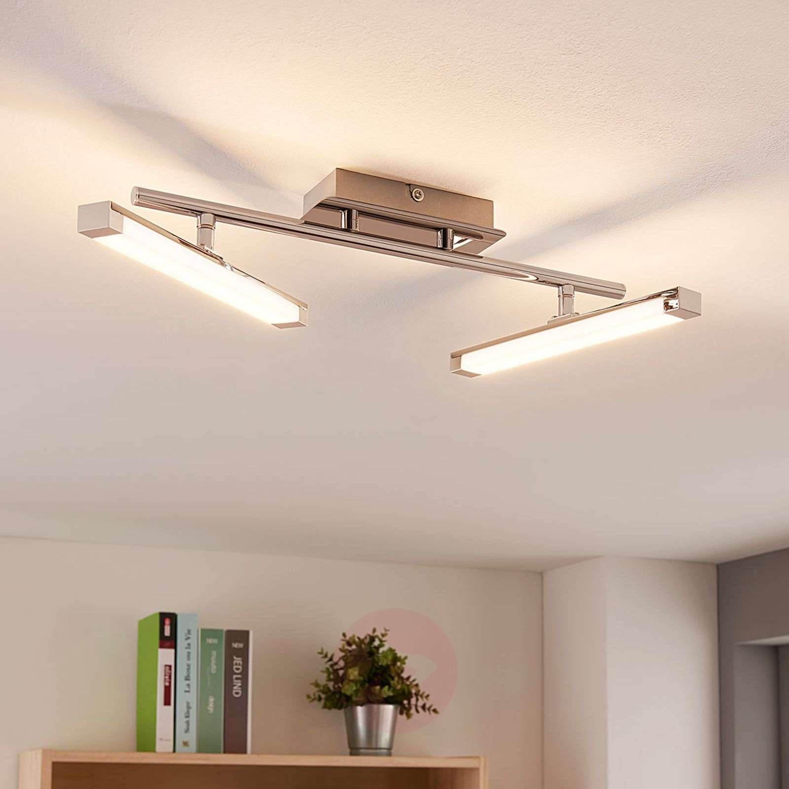 Plafoniere Led A Soffitto Moderno Dimmerabile : Acquista moderna plafoniera led pilou dimmerabile lampade