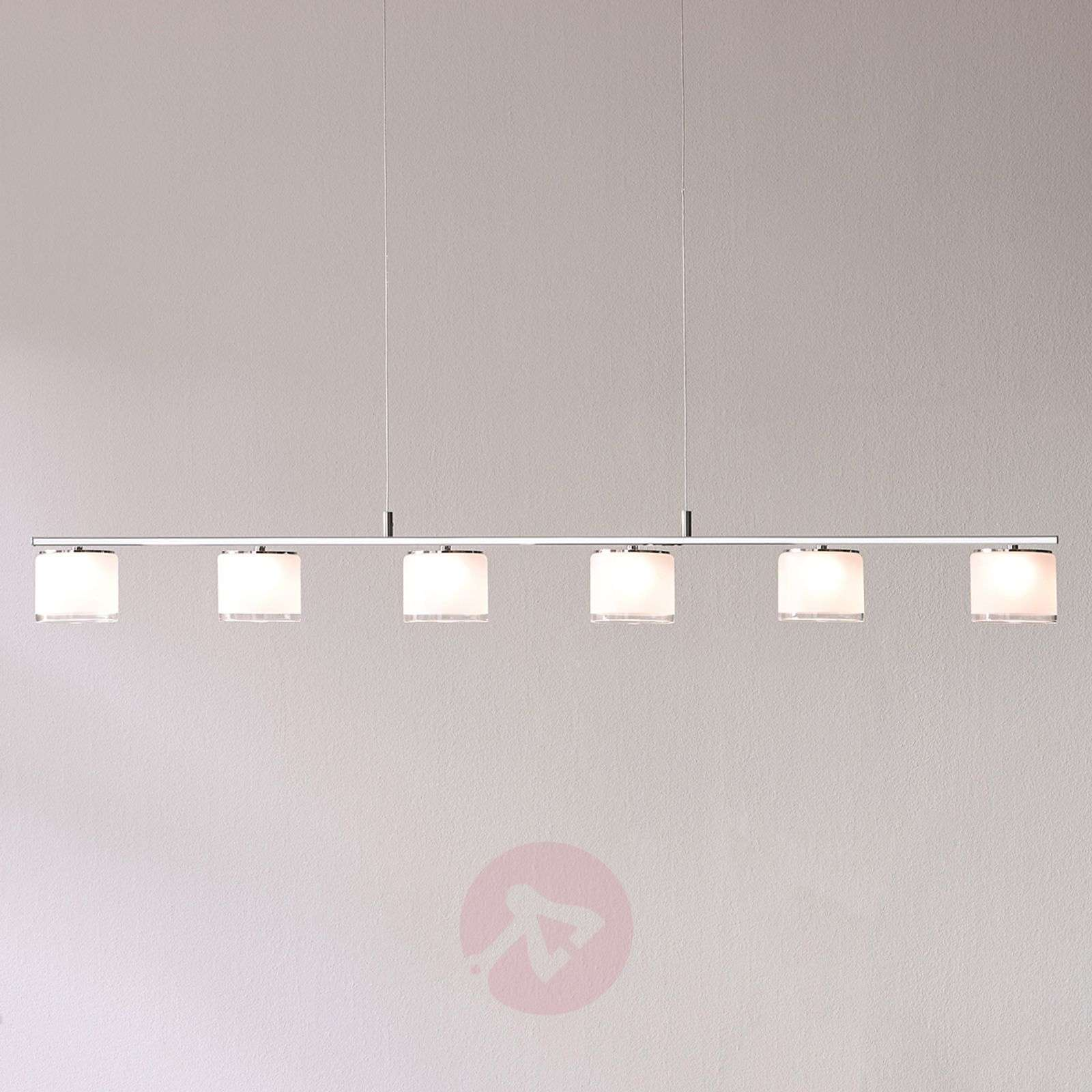 Philips Byzantin trave a sospensione a LED, cromo-7531852-011