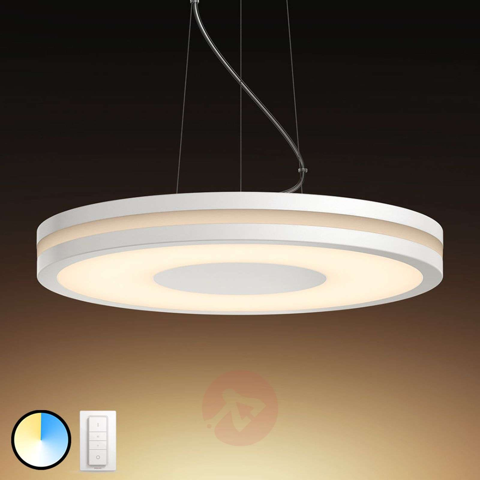 Plafoniere Quadrate Philips : Acquista philips hue being lampada a sospensione led dimmer