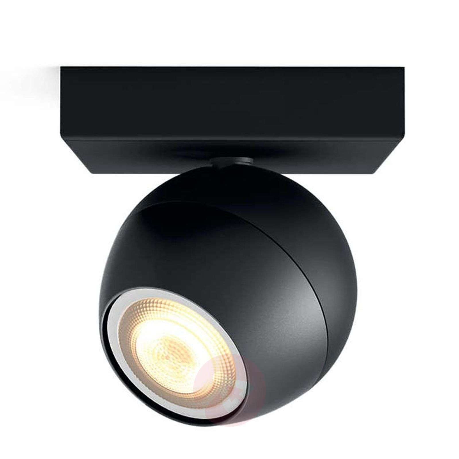 Philips Hue Buckram 1 spot LED nero-7532049-01