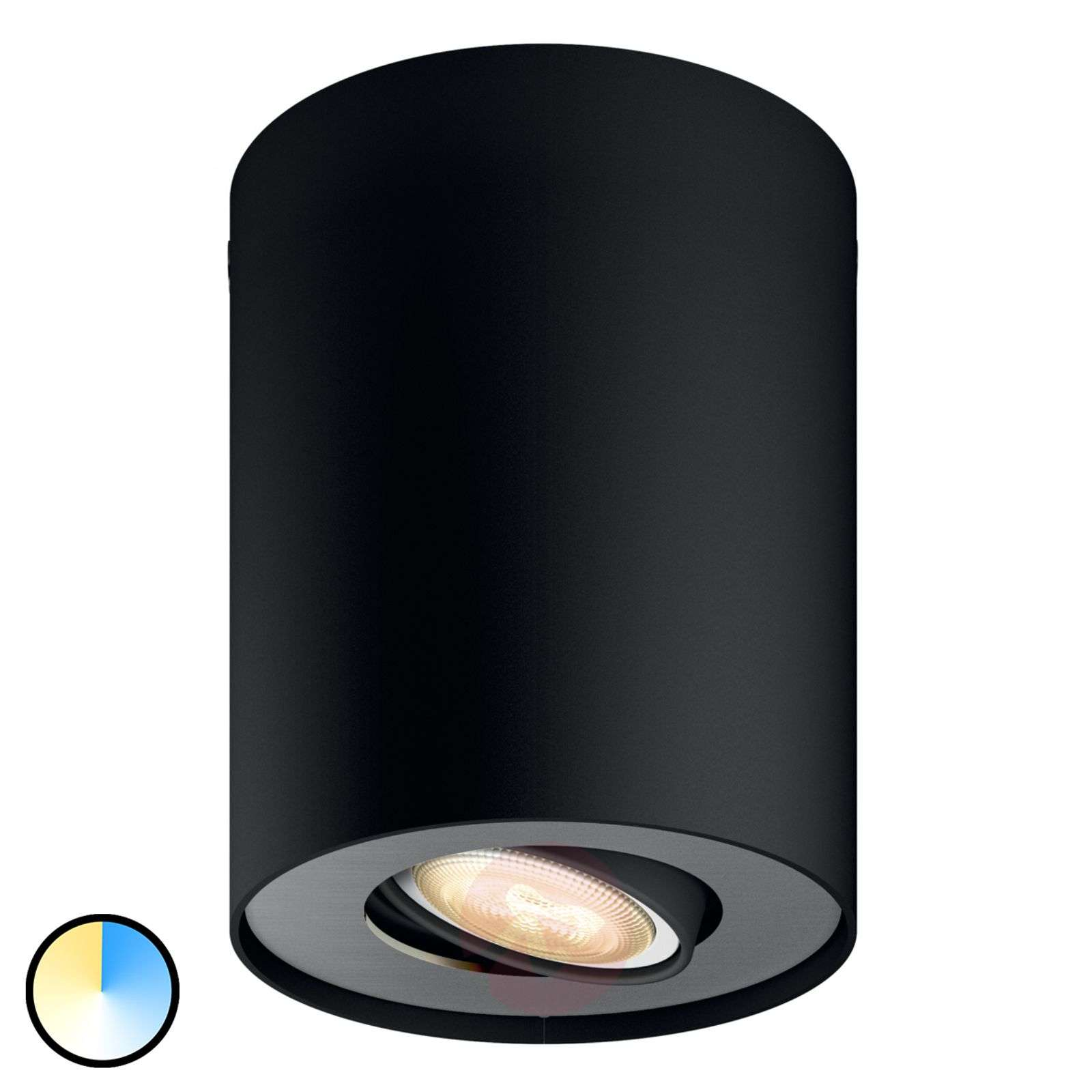 Philips Hue Pillar spot con dimmer, nero-7531880-01