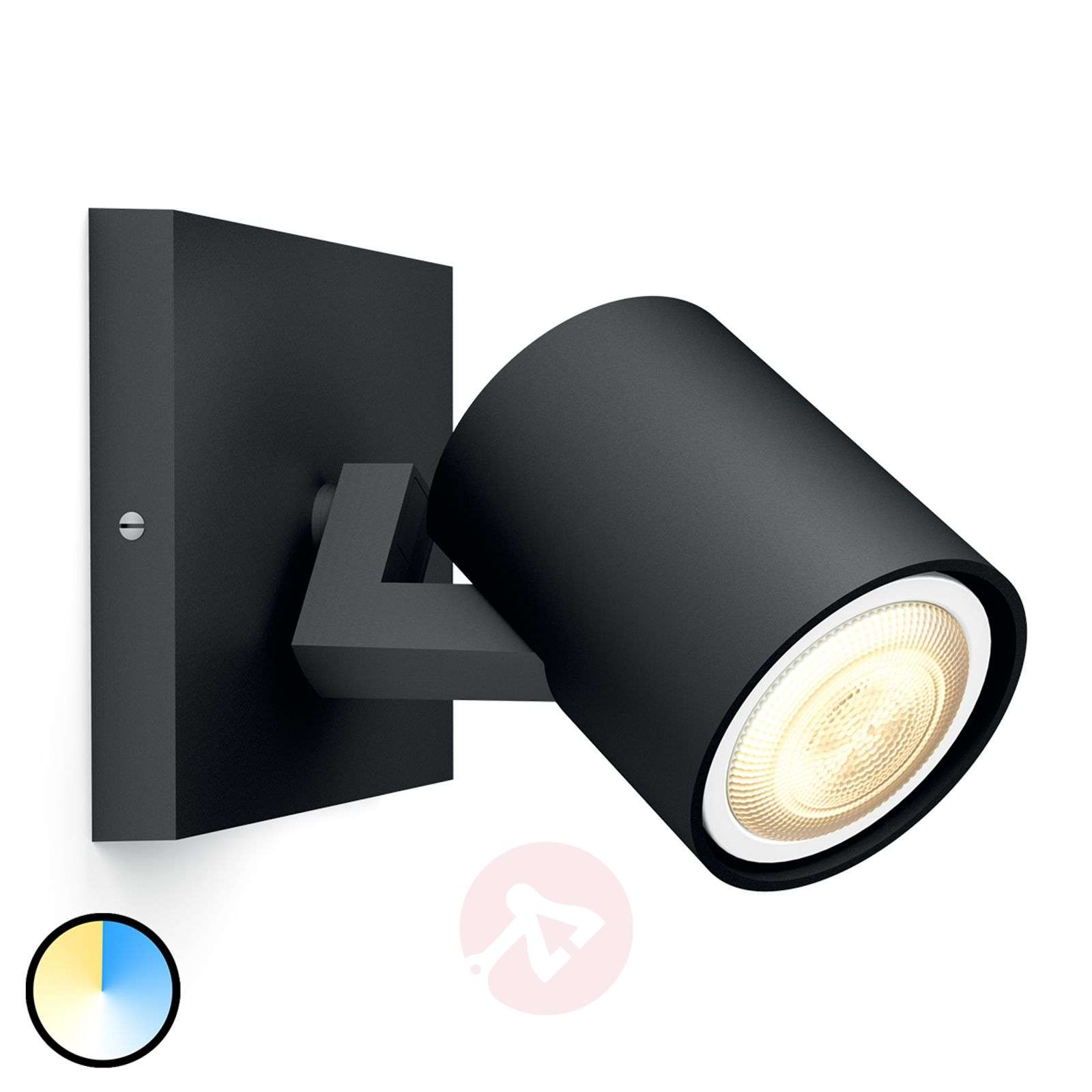 Philips Hue Runner faretto dimmer a 1 luce negro-7531886-01