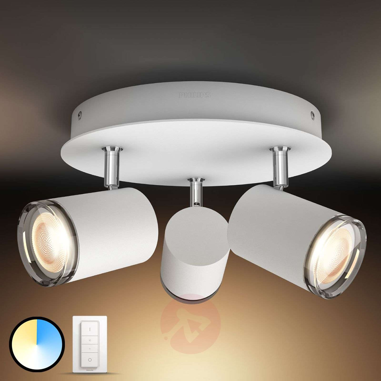 Plafoniera Led Philips : Acquista philips hue white ambiance adore plafoniera led lampade