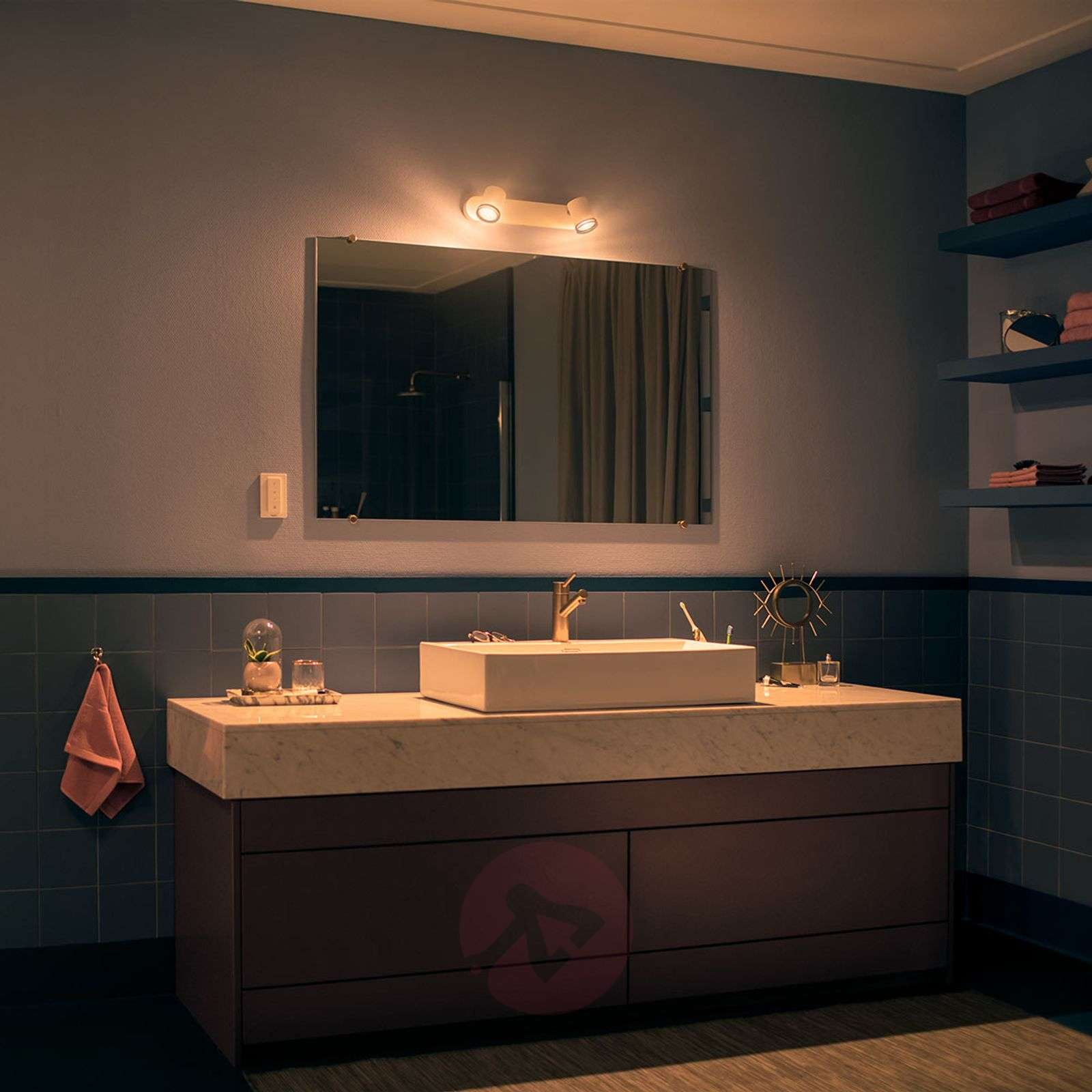 Philips Hue White Ambiance Adore spot LED 2 luci-7534072-01
