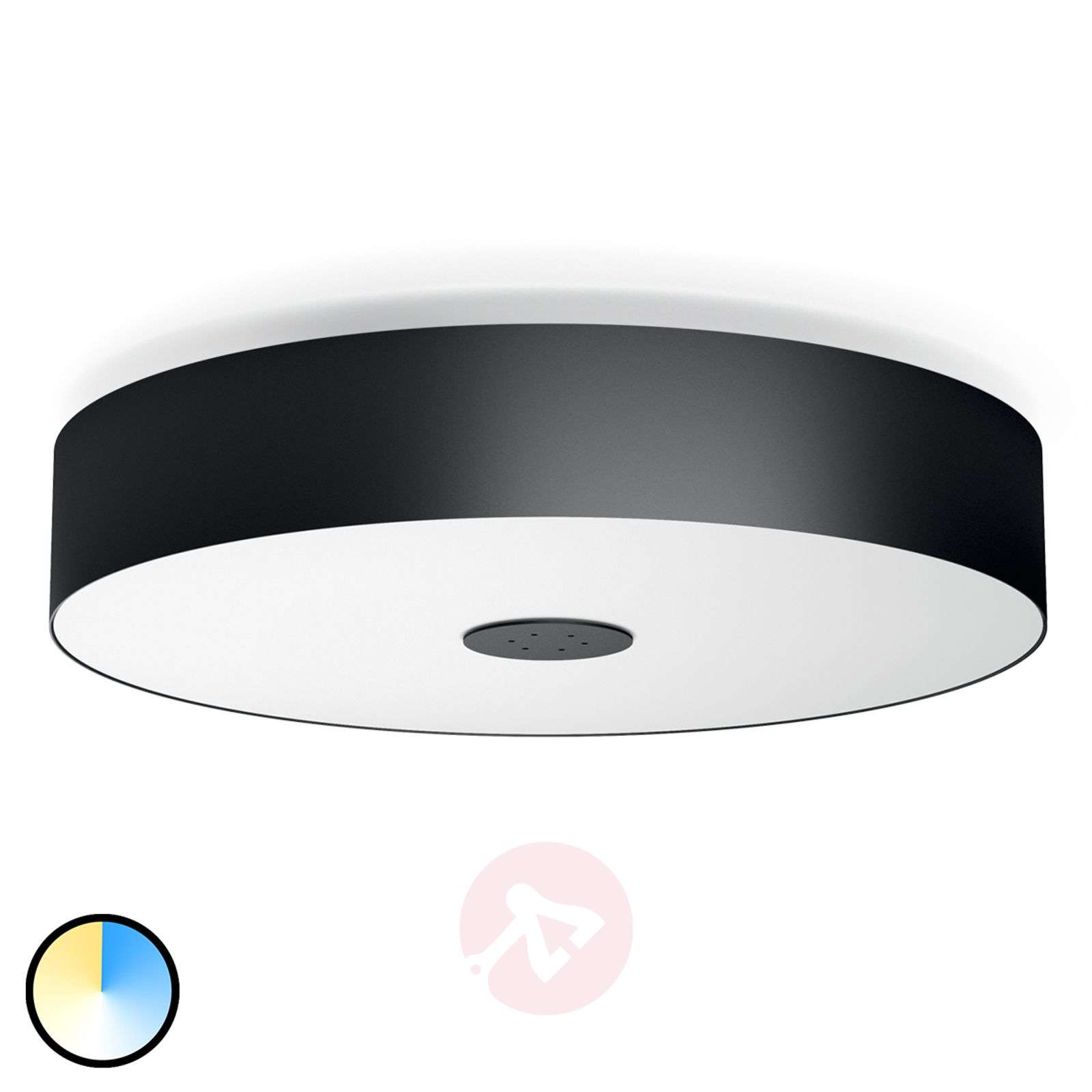 Plafoniere A Led Per Bagno Philips : Acquista philips hue white ambiance fair nero lampade.it