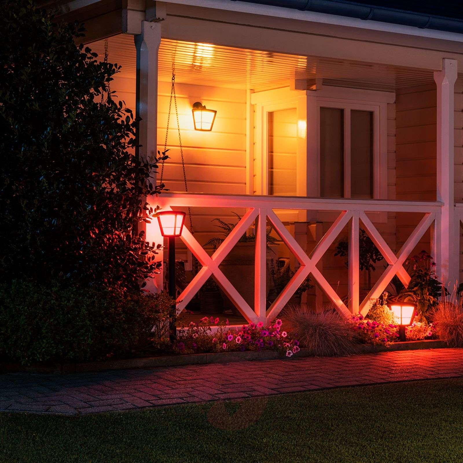 Philips Hue White+Color Econic applique in basso-7534118-02