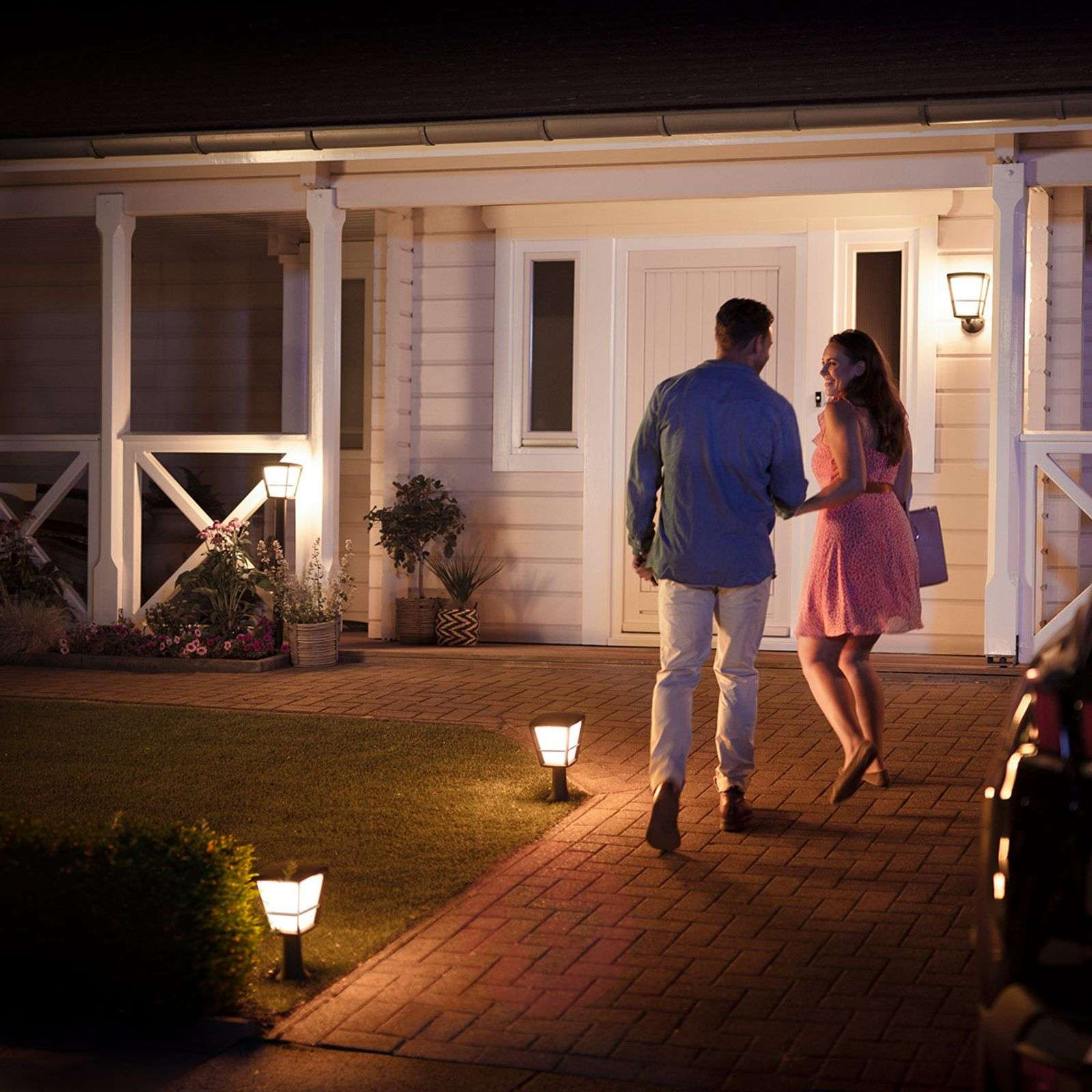 Philips Hue White+Color Econic lampioncino a LED-7534119-02