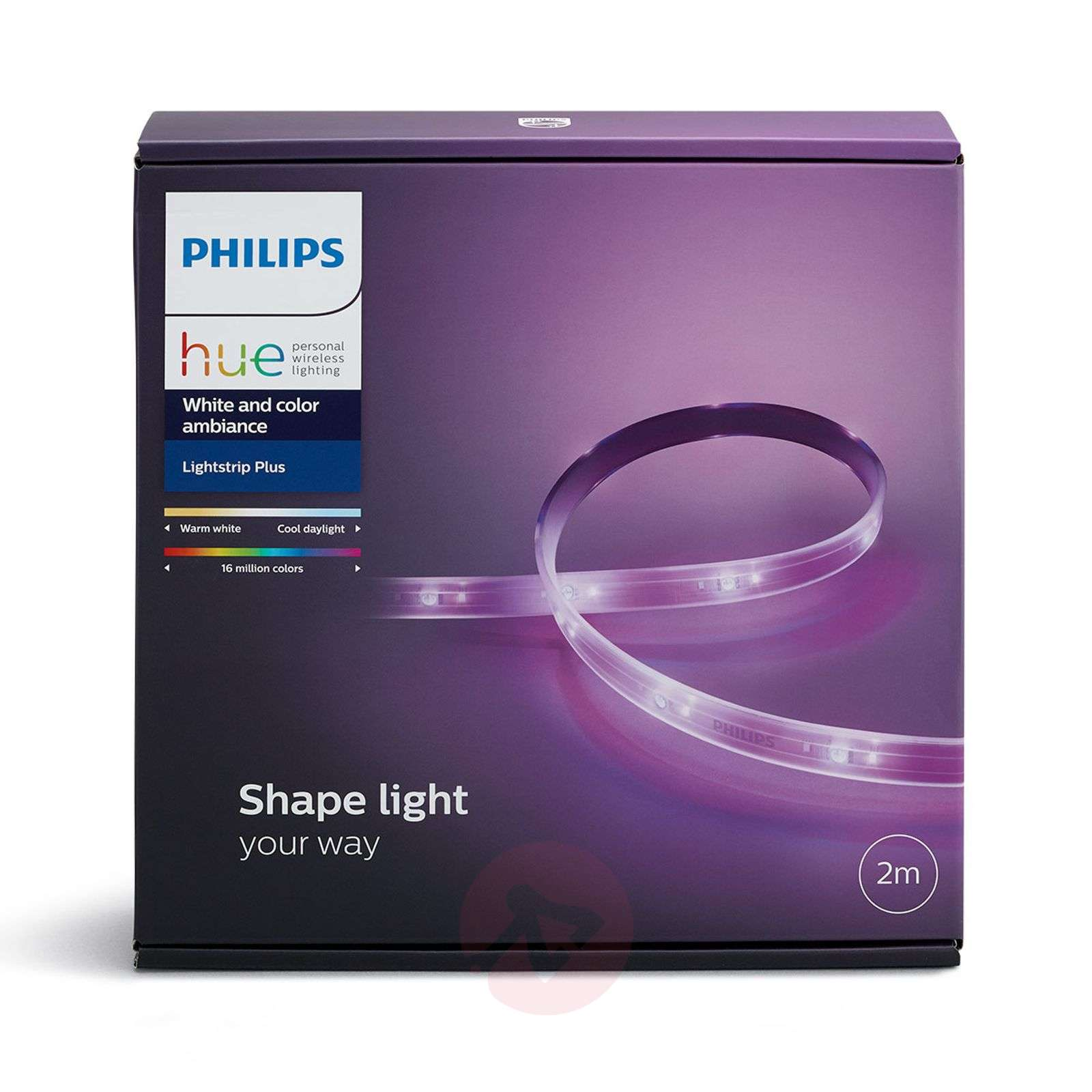 Philips Hue White+Color LightStrip Plus base 2 m-7531685-01