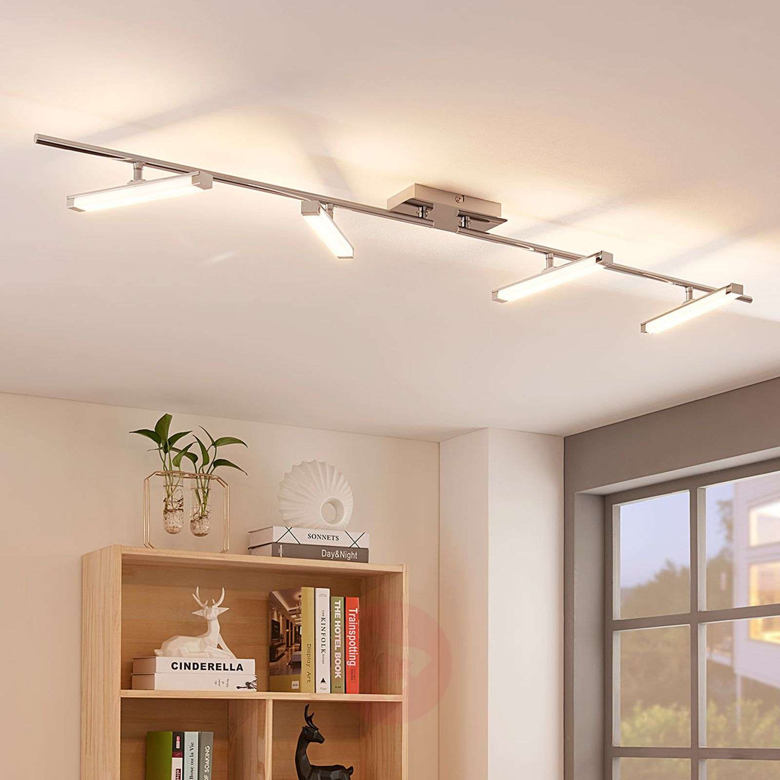 Plafoniere Led A Soffitto Moderno Dimmerabile : Acquista pilou plafoniera led a luci dimmerabile lampade