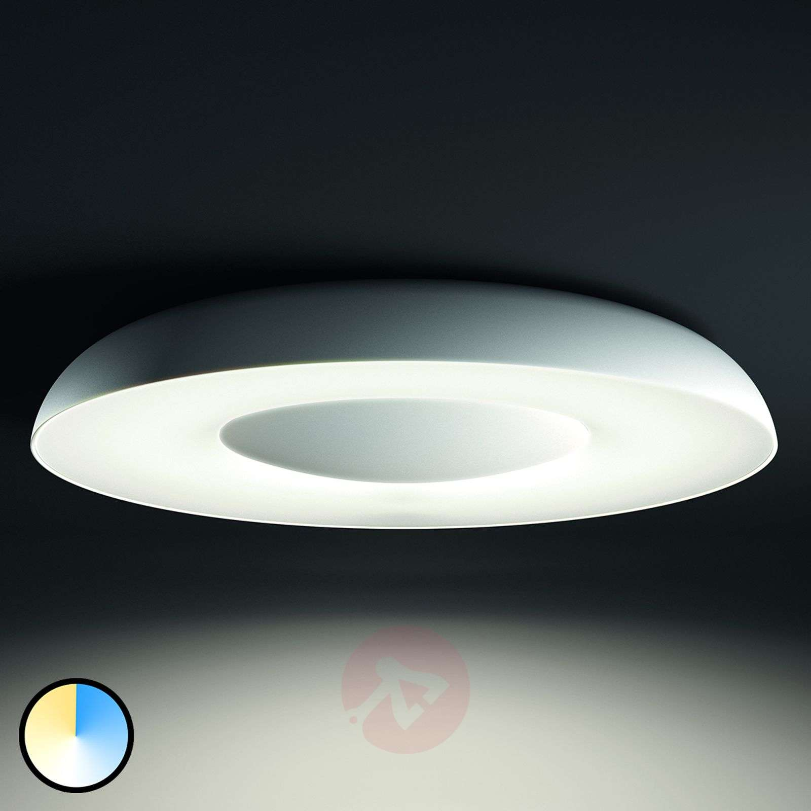 Plafoniere Philips Hue : Acquista plafoniera a led still philips hue lampade
