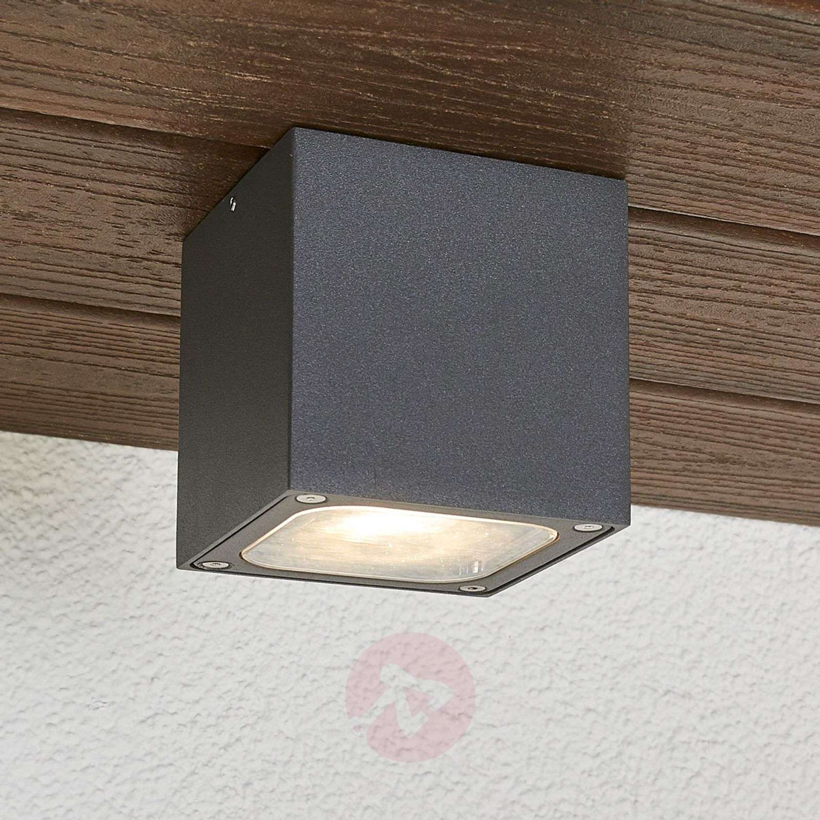 Plafoniera Per Esterno A Led : Acquista plafoniera cubica led da esterni tanea ip54 lampade.it