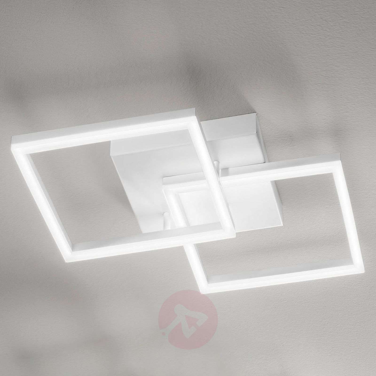Plafoniere Quadrate Eleganti : Acquista plafoniera led bard a 2 luci lampade.it