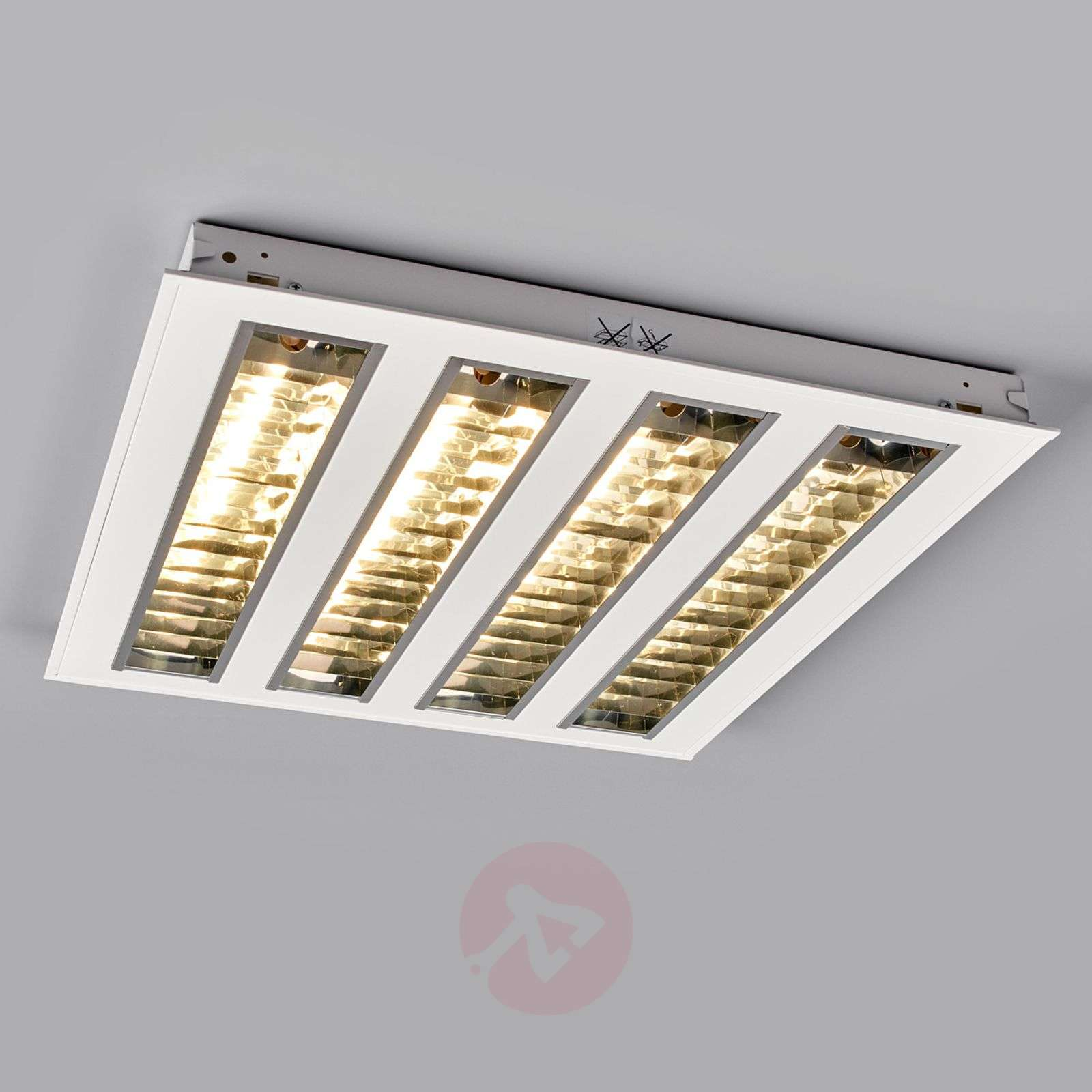 Plafoniera Led Da Incasso : Acquista plafoniera led da incasso con 4 schermi lampade.it