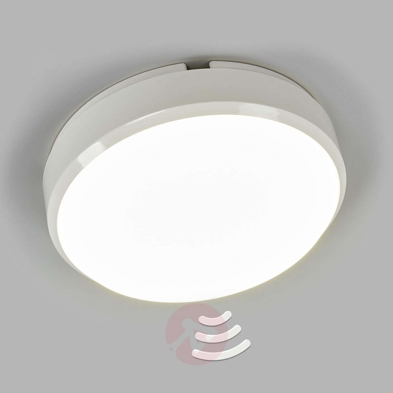 Plafoniera Led Da Soffitto : Acquista plafoniera led da soffitto bulkhead sensore lampade.it