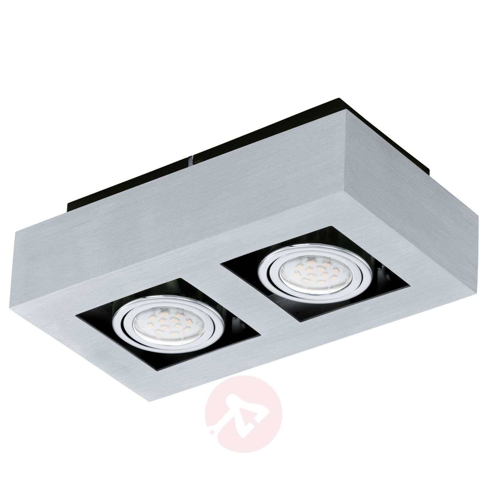 Plafoniera LED Loke a due luci-3031152-01