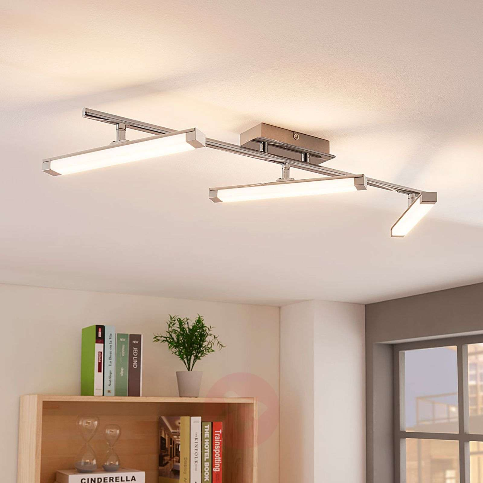 Plafoniera LED Pilou dimmerabile con interruttore-9621739-03