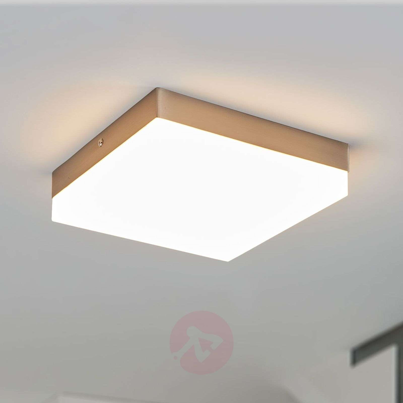 Plafoniera Led Eglo Prezzo : Acquista plafoniera led quadrata nieke lampade.it