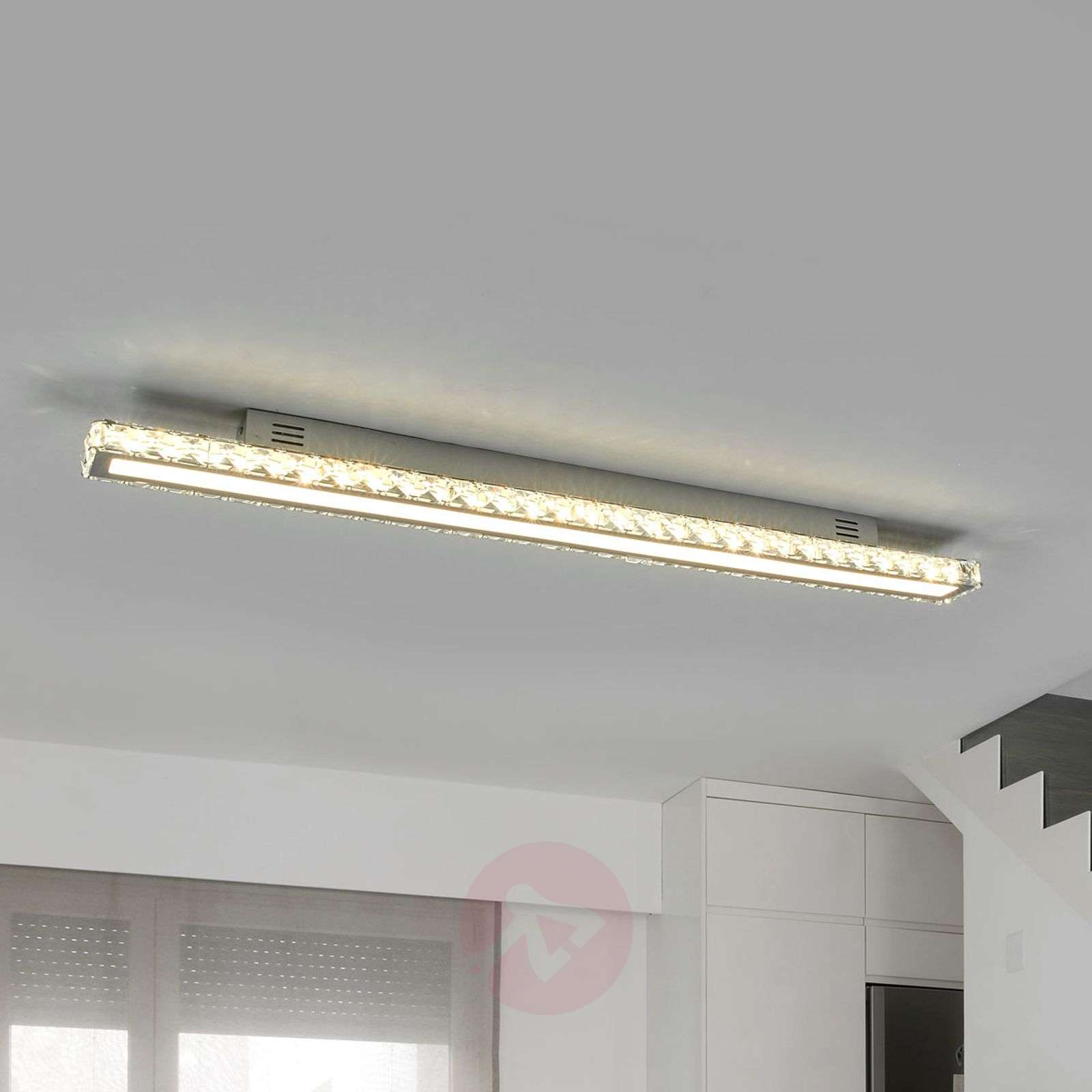 Plafoniere Cristallo : Acquista potente plafoniera led di cristallo sesilia lampade.it
