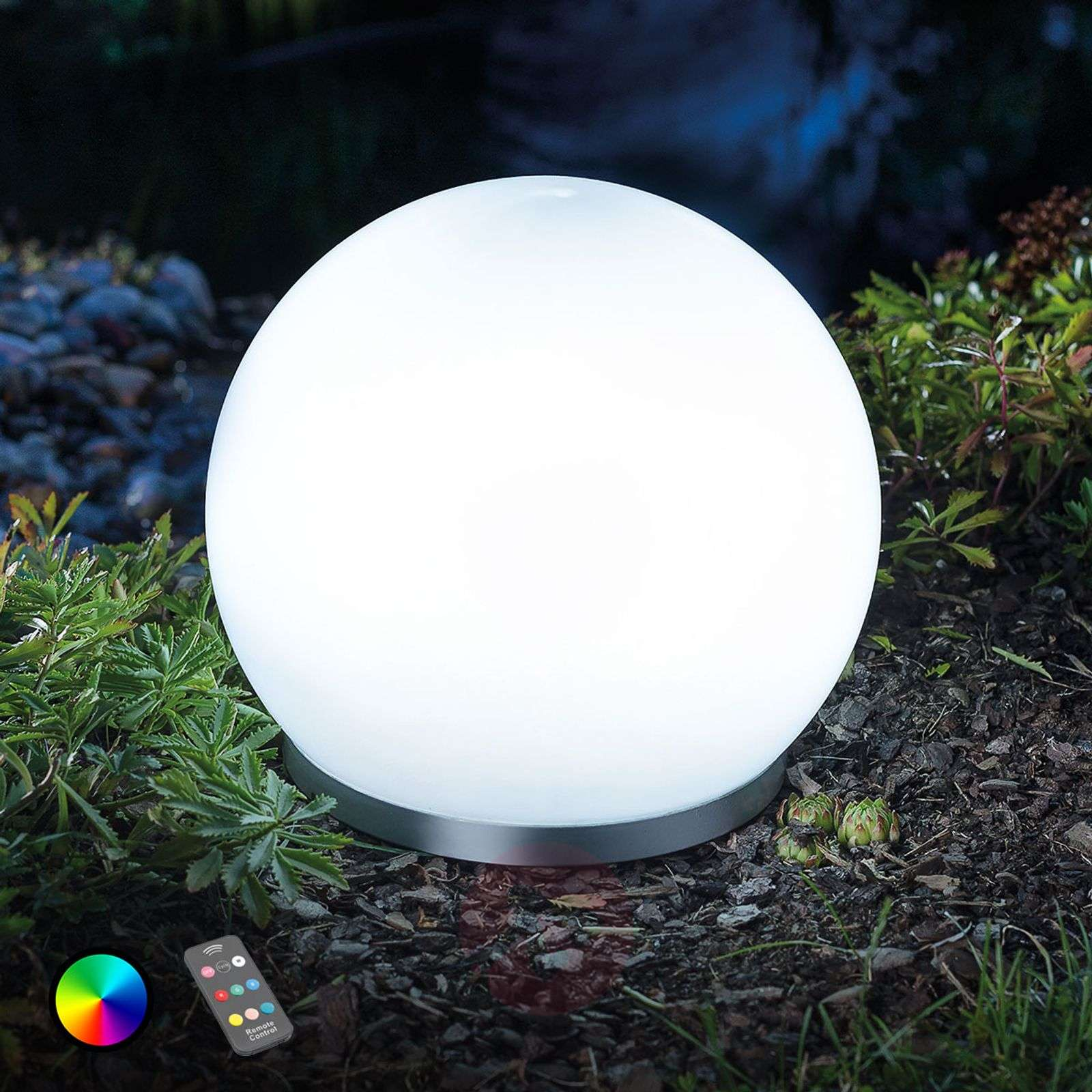 Sfera solare LED RGB Float 25 con FB-3012560-01