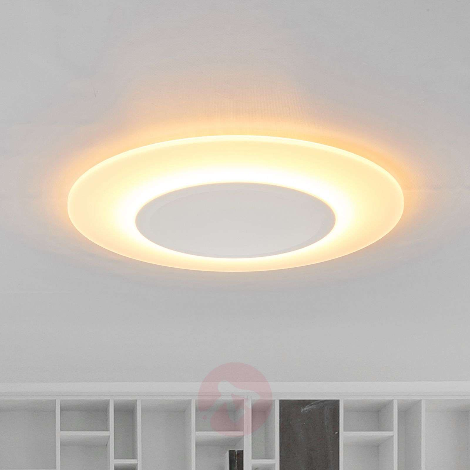 Plafoniere A Led Per Bagno Philips : Acquista sottile plafoniera led flat 1.200 lumen lampade.it