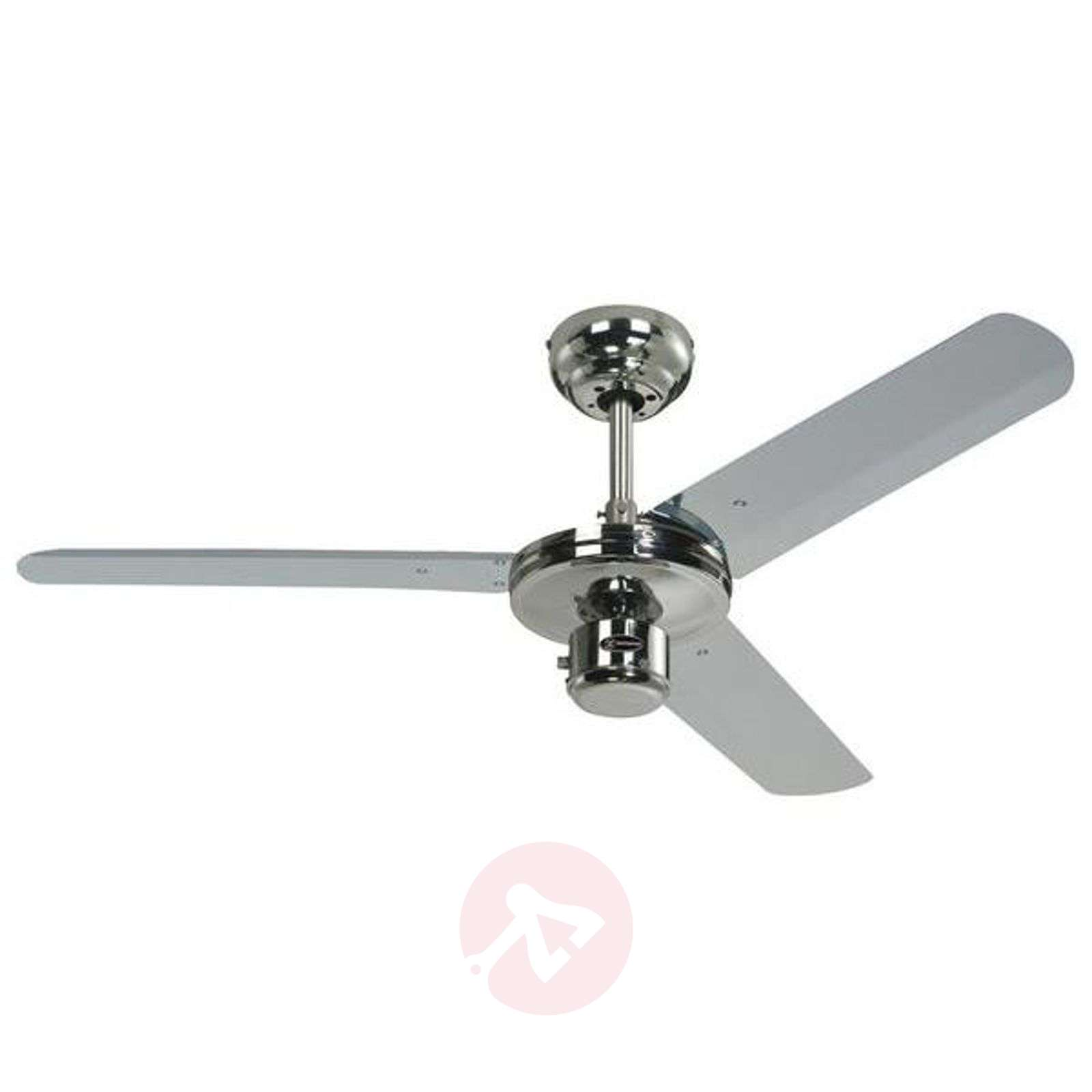 Ventilatore da soffitto Industrial, cromato-9602049-03